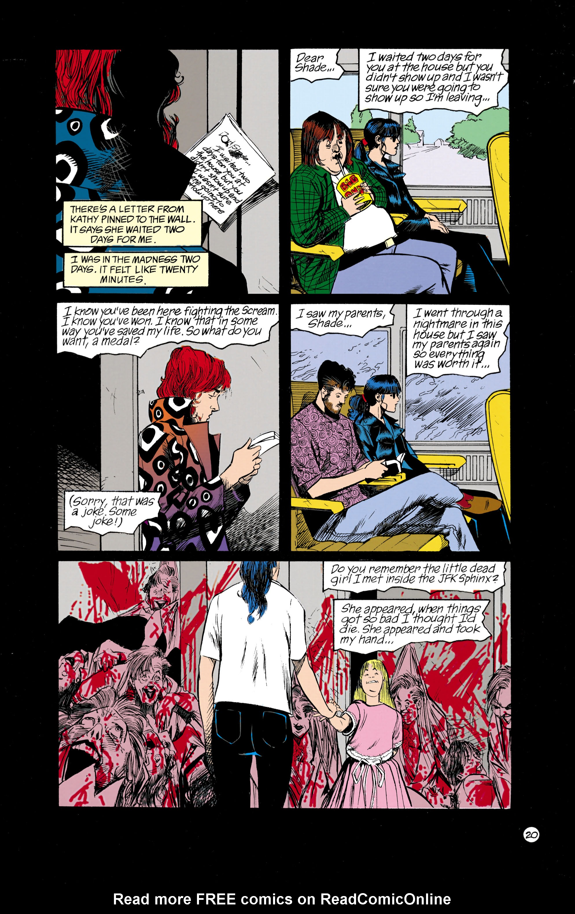 Read online Shade, the Changing Man comic -  Issue #18 - 20