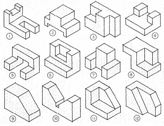[archived] Room 14's Blog 2016 : Isometric Drawings
