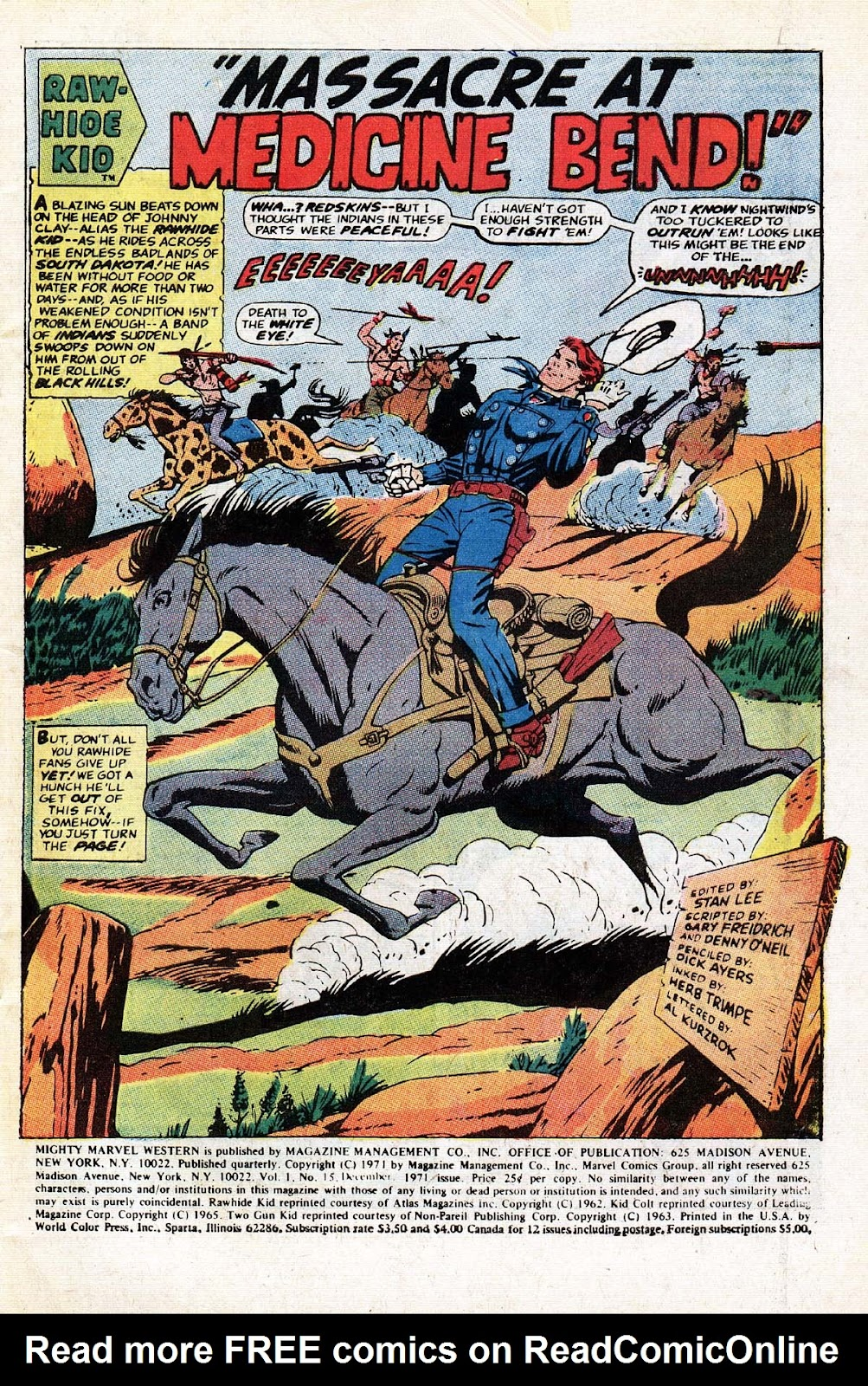 The Mighty Marvel Western issue 15 - Page 2