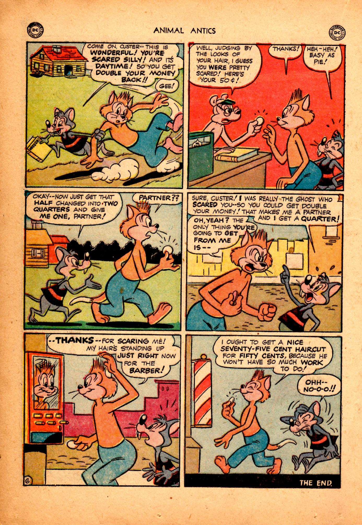 Read online Animal Antics comic -  Issue #25 - 20