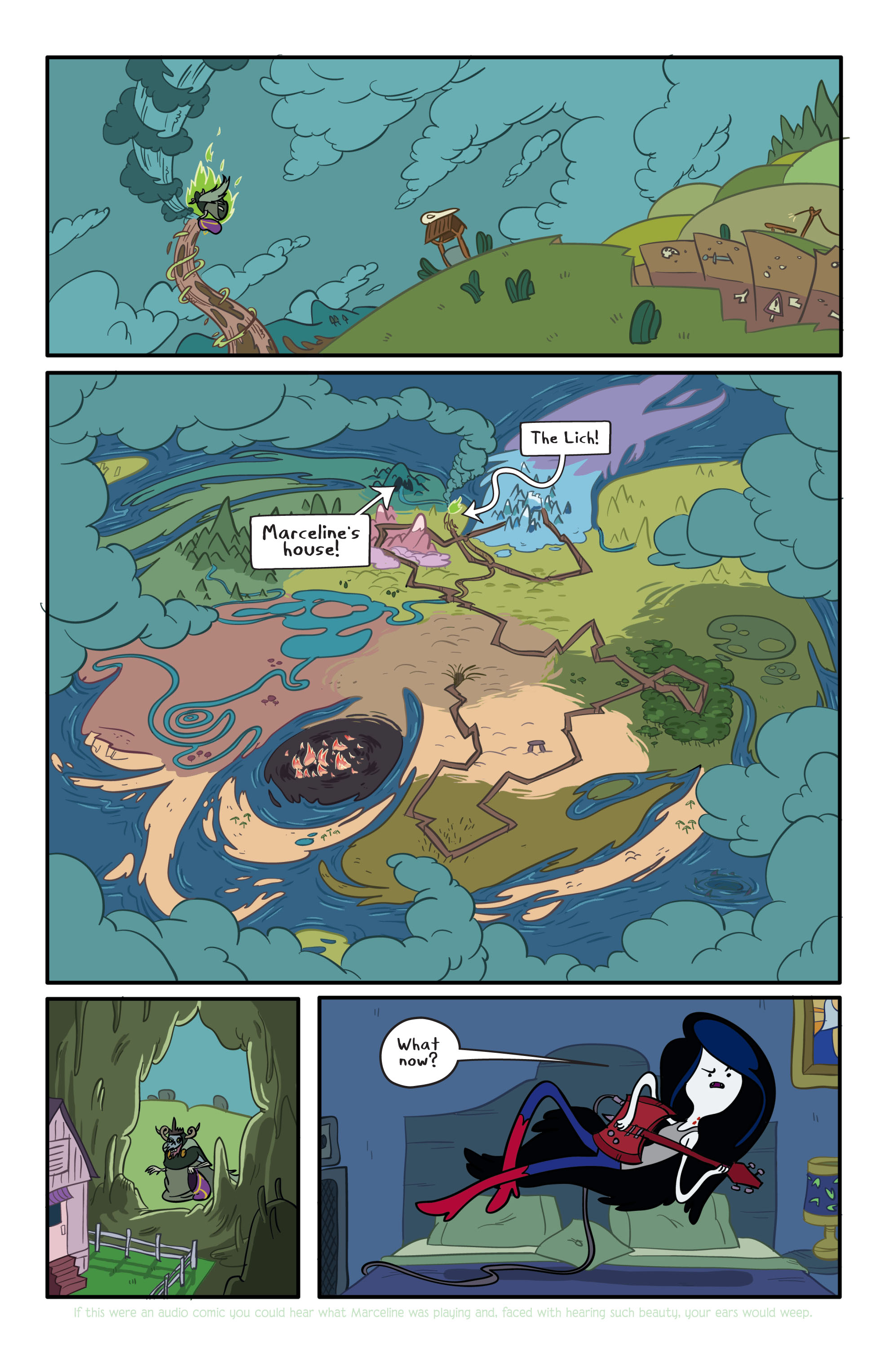Read online Adventure Time comic -  Issue #2 - 7