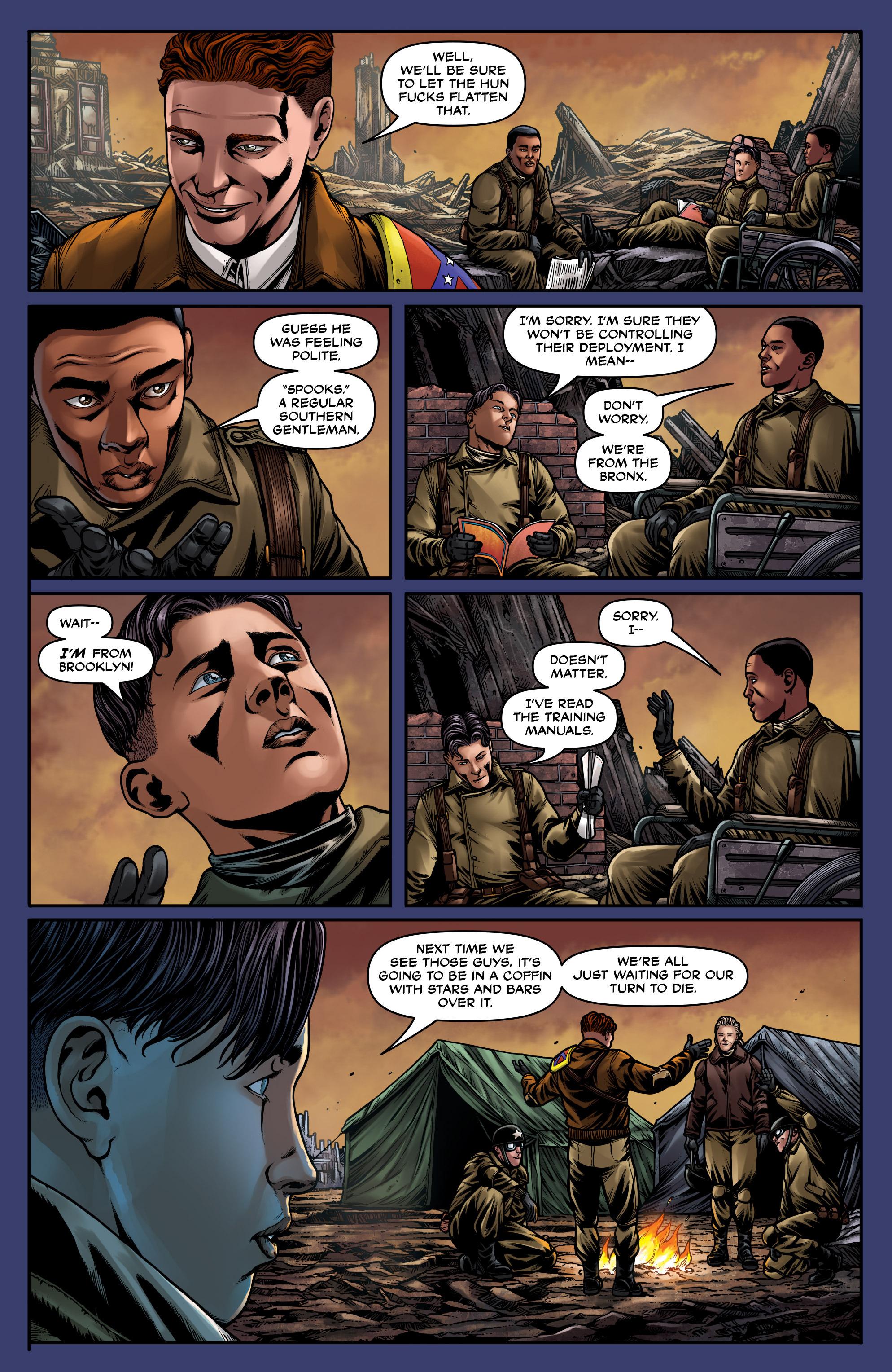Read online Uber: Invasion comic -  Issue #5 - 11