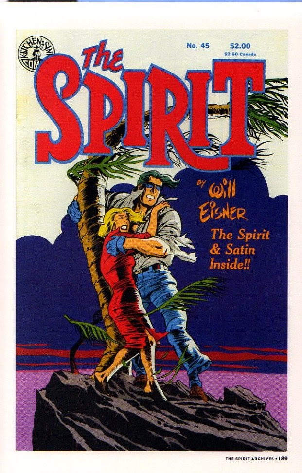 Read online Will Eisner's The Spirit Archives comic -  Issue # TPB 26 (Part 2) - 96