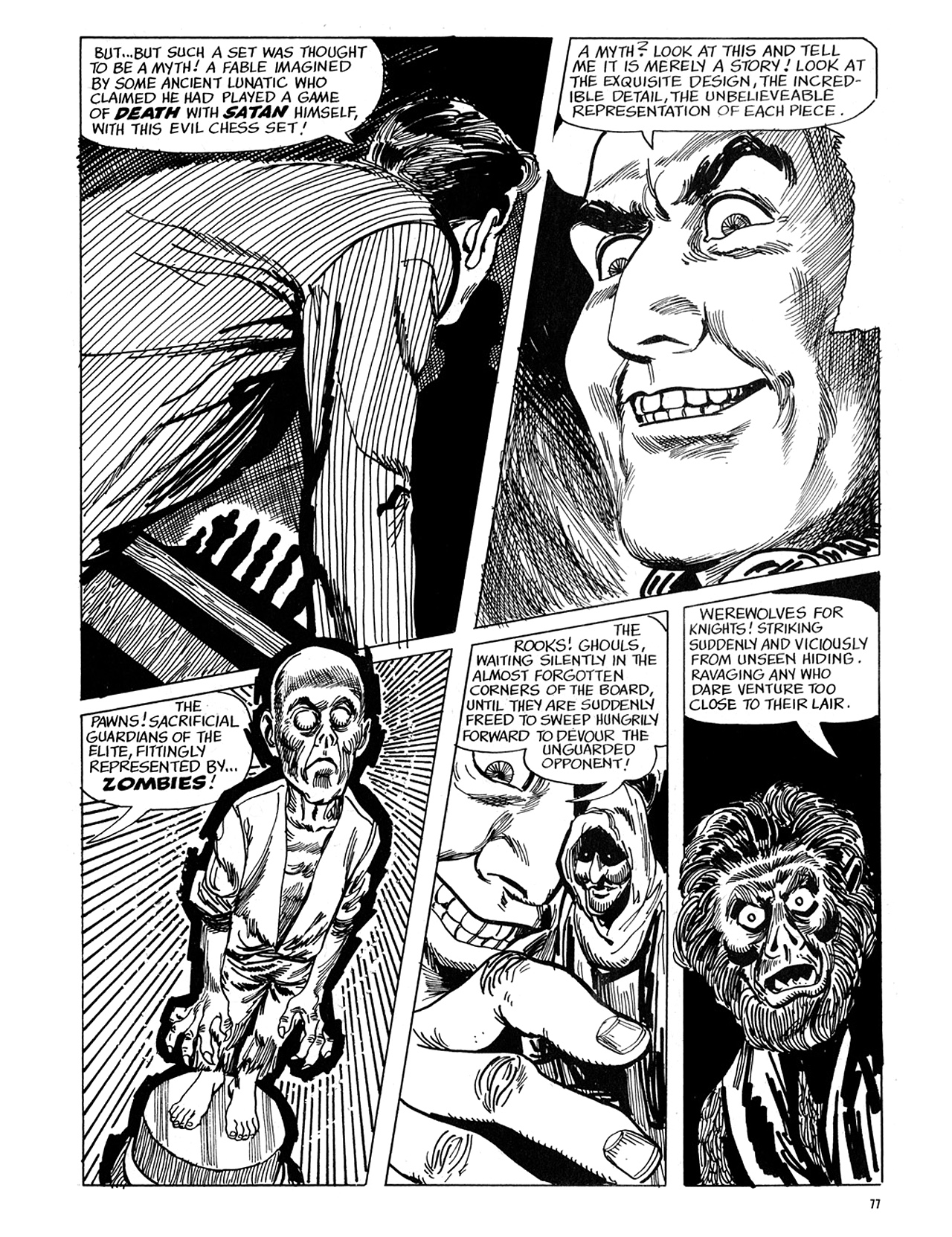 Read online Eerie Archives comic -  Issue # TPB 5 - 78