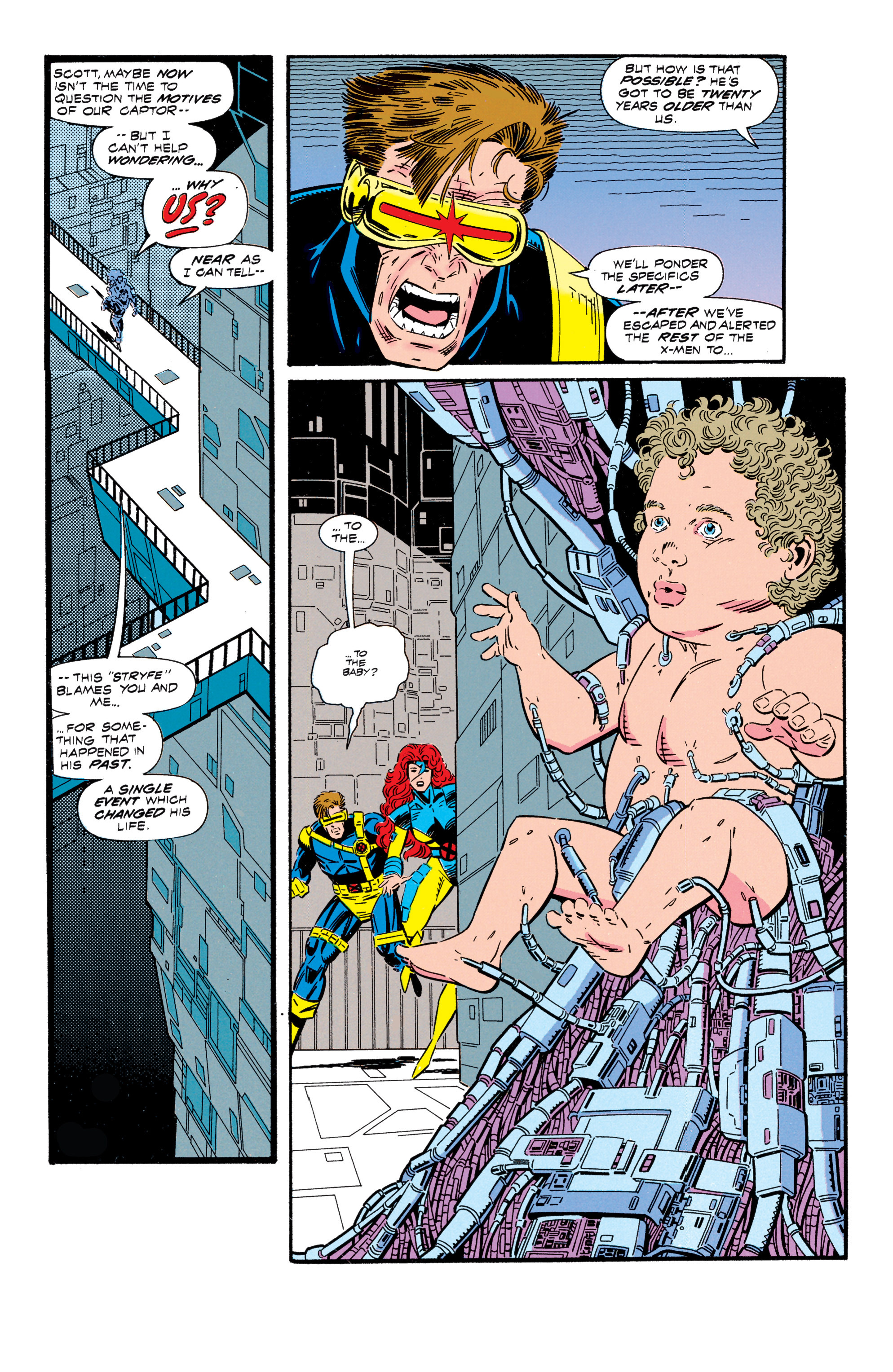 Read online Uncanny X-Men (1963) comic -  Issue #296 - 11