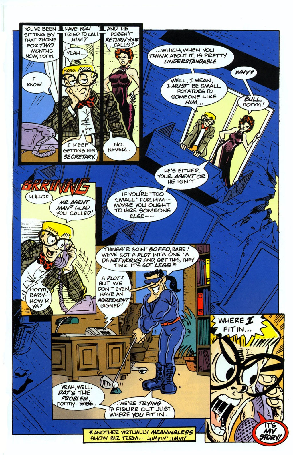 Read online Normalman 20th Anniversary Special comic -  Issue # Full - 31