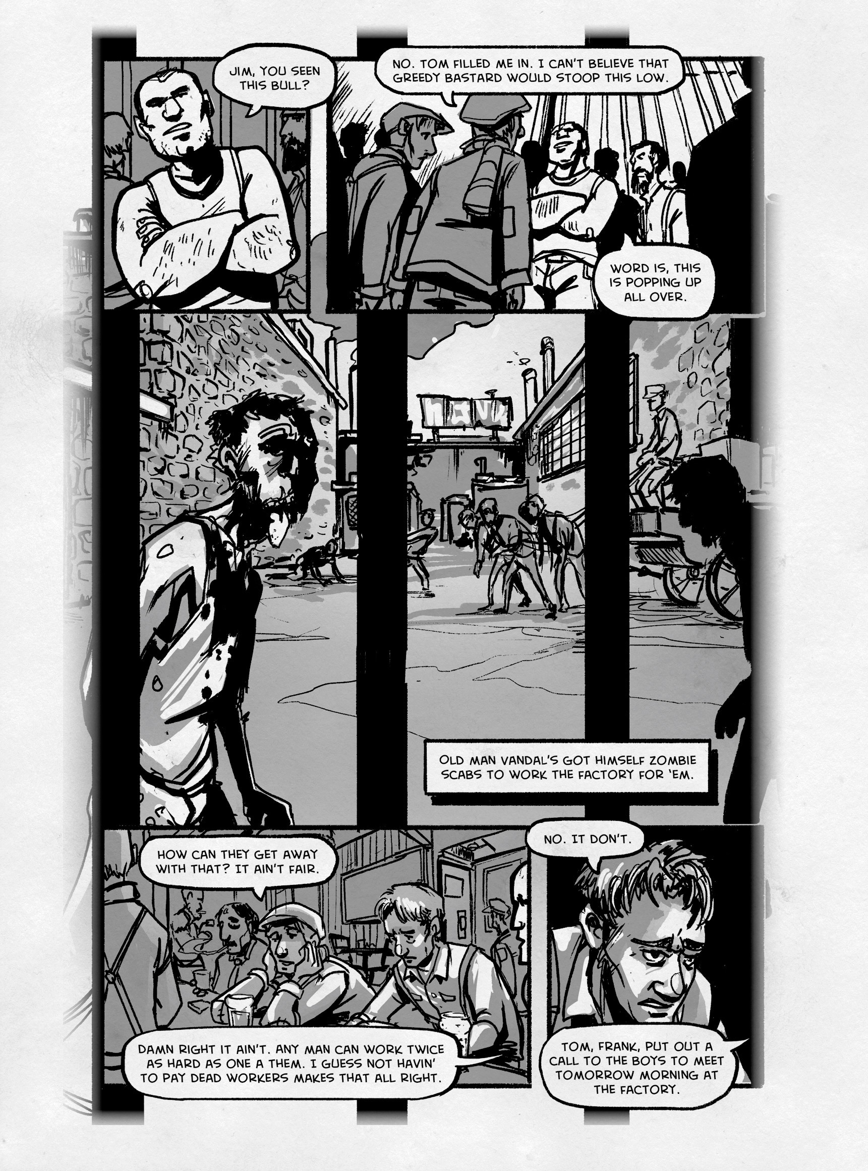 Read online FUBAR comic -  Issue #3 - 235