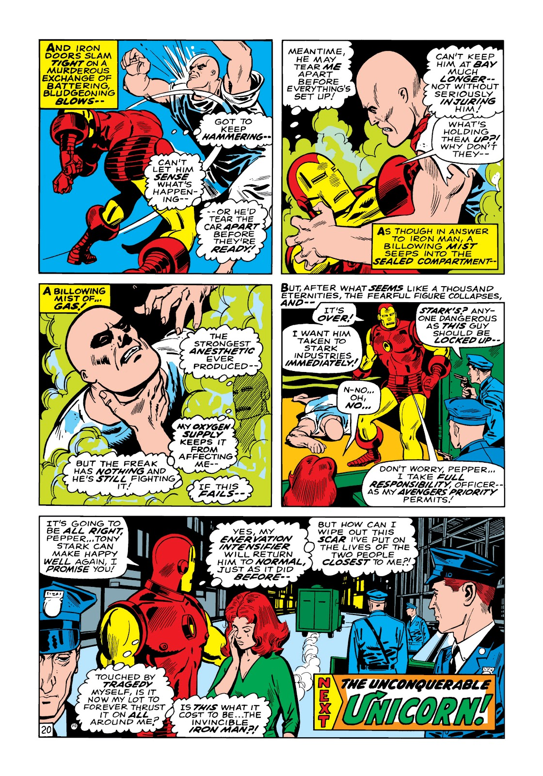 Read online Marvel Masterworks: The Invincible Iron Man comic -  Issue # TPB 5 (Part 1) - 48