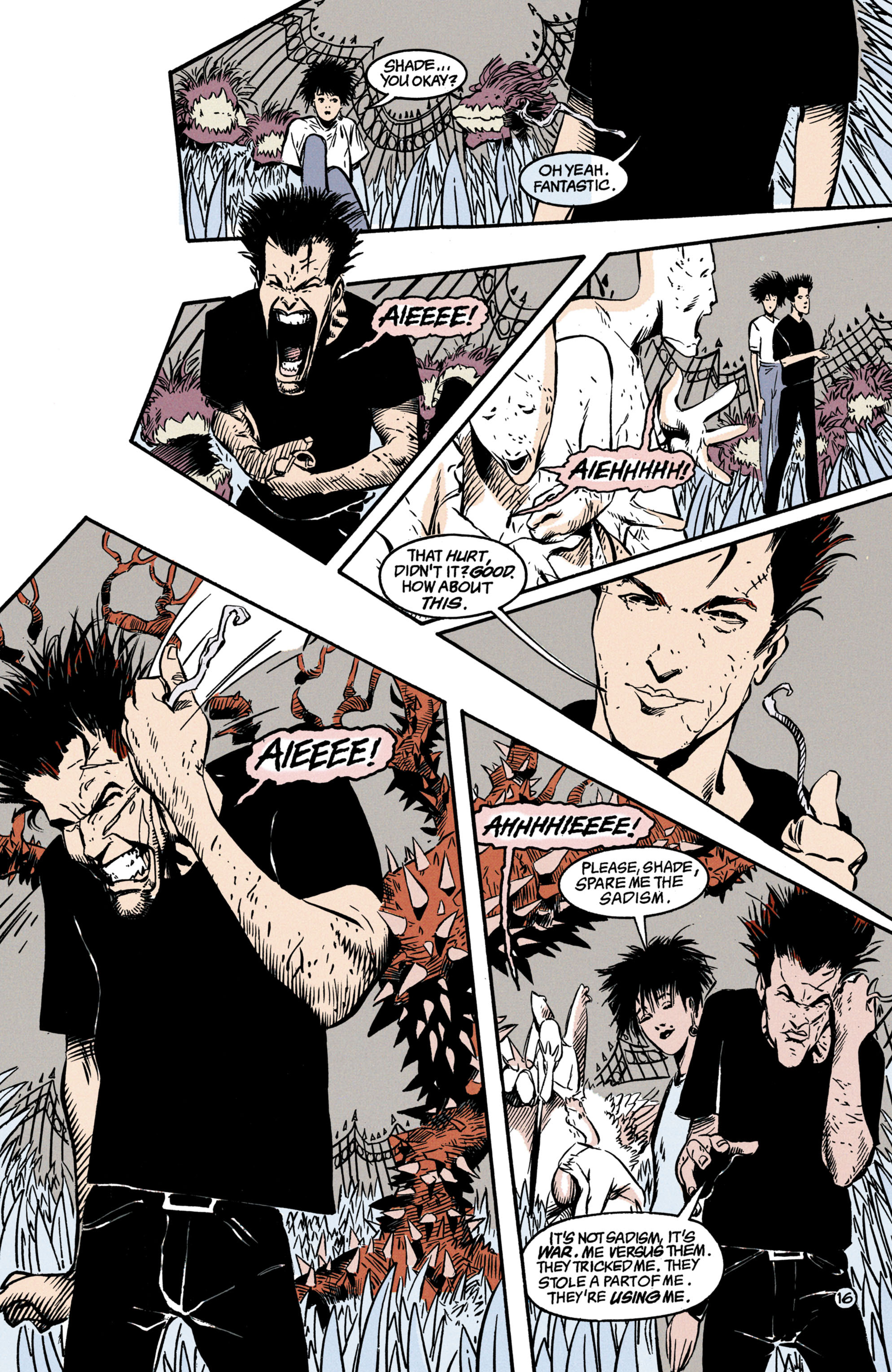 Read online Shade, the Changing Man comic -  Issue #35 - 17