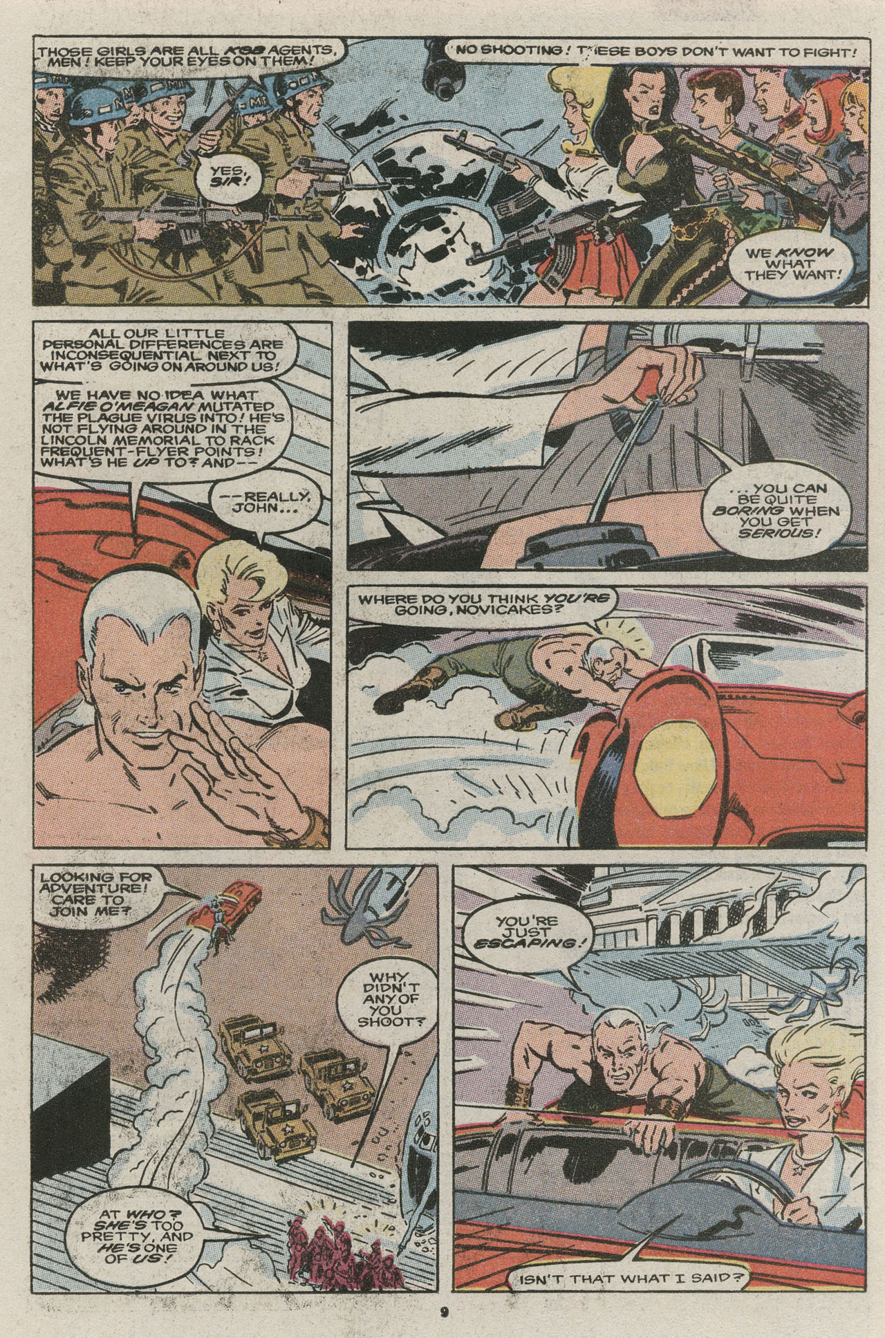 Read online Nth Man the Ultimate Ninja comic -  Issue #13 - 11