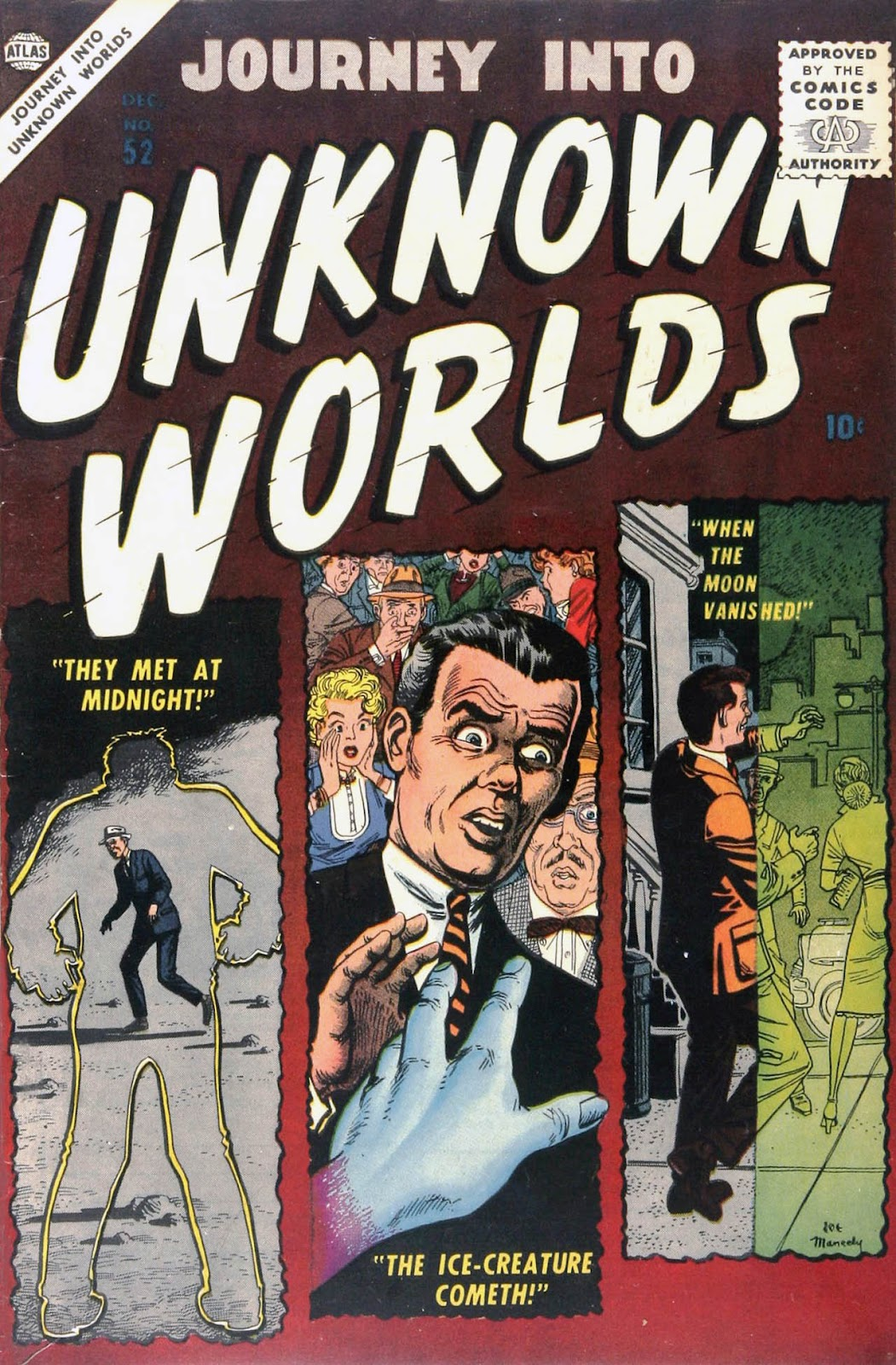 Journey Into Unknown Worlds (1950) 52 Page 1