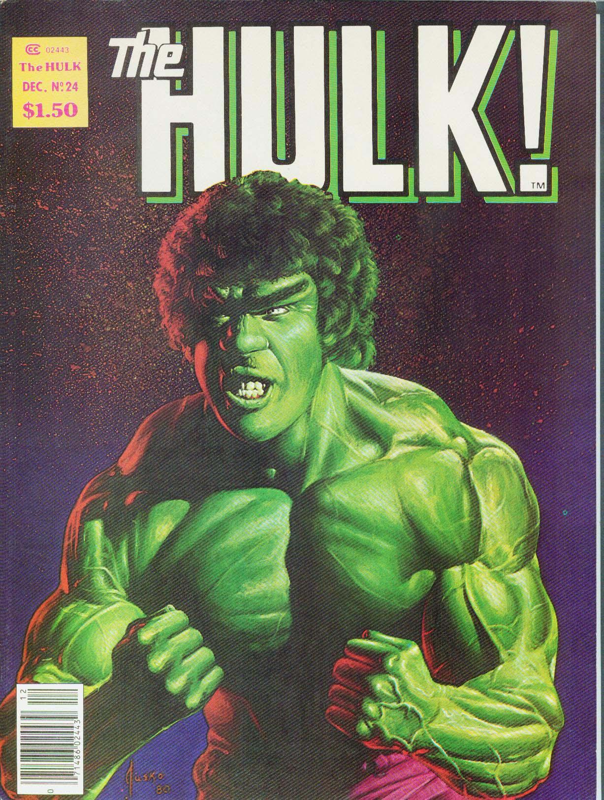 Hulk (1978) issue 24 - Page 1