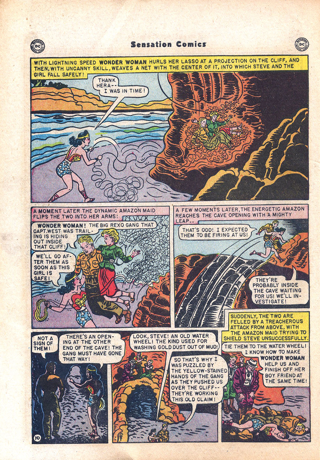 Read online Sensation (Mystery) Comics comic -  Issue #94 - 12