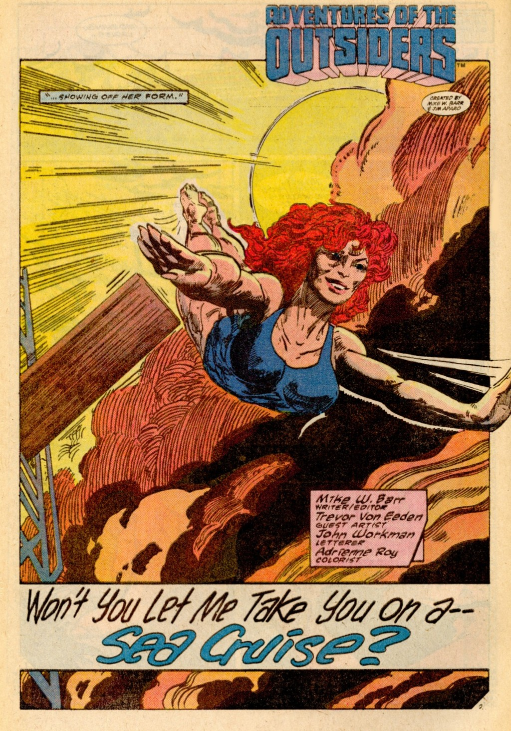 Read online Adventures of the Outsiders comic -  Issue #37 - 3
