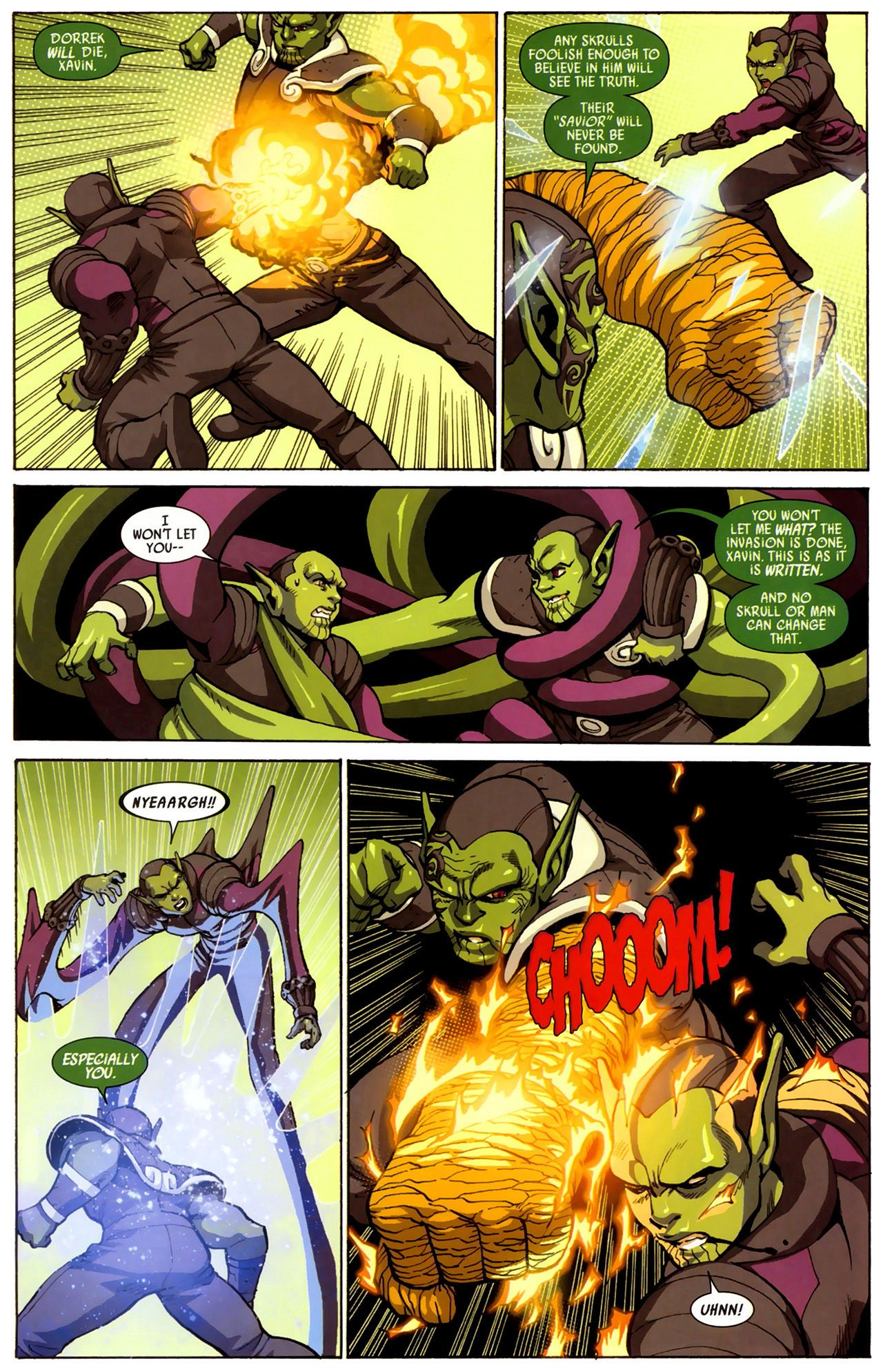 Read online Secret Invasion: Runaways/Young Avengers comic -  Issue #3 - 16