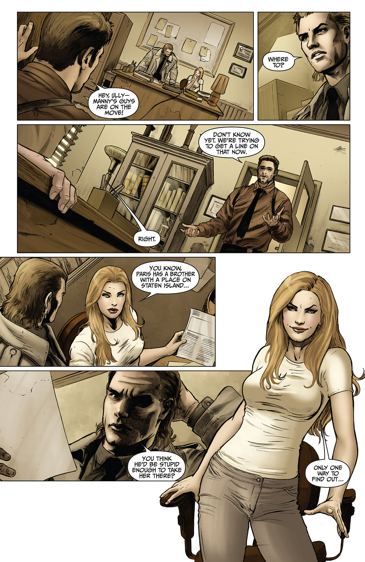 Read online Athena comic -  Issue #2 - 20