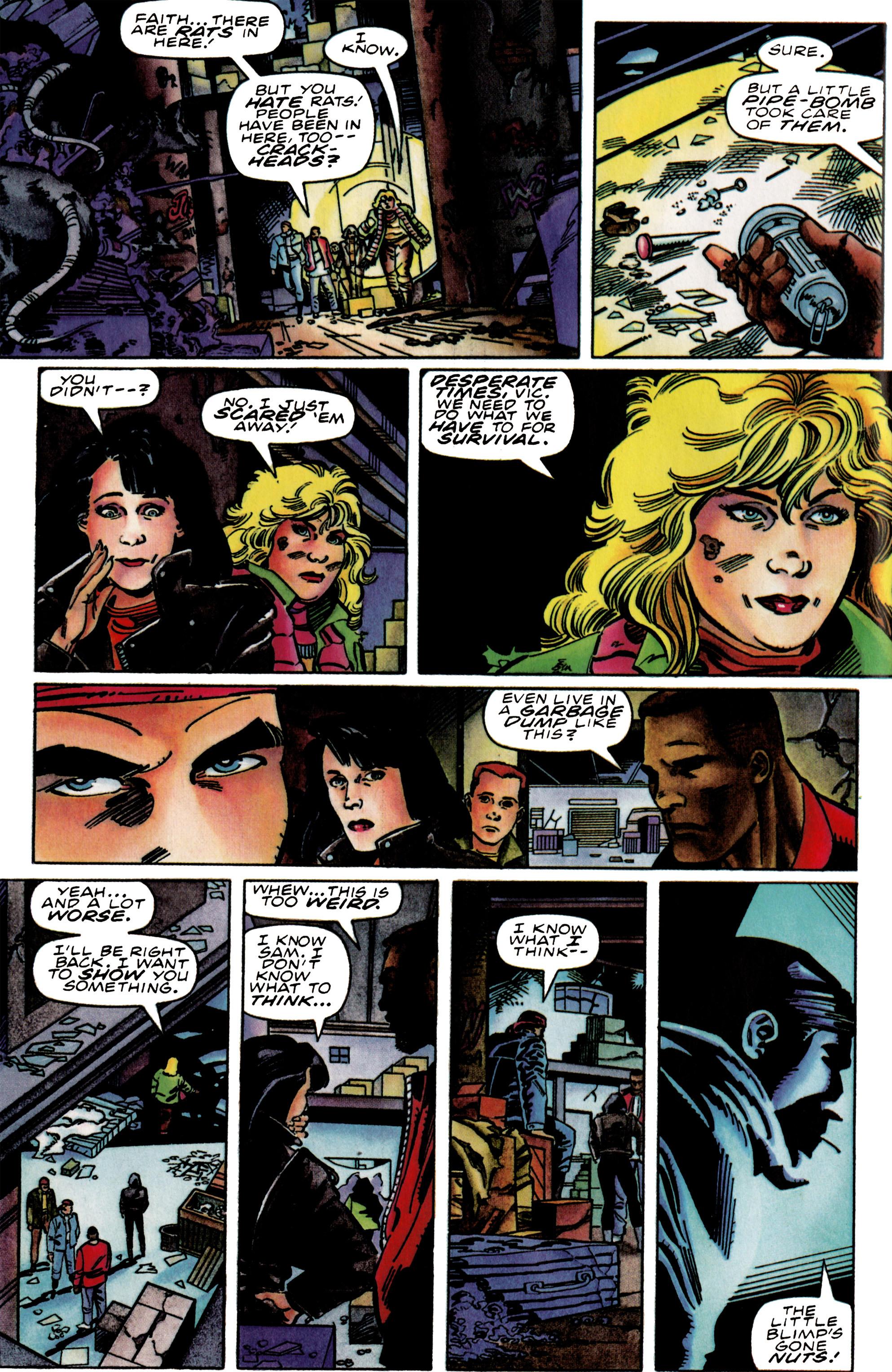 Read online Harbinger (1992) comic -  Issue #39 - 6