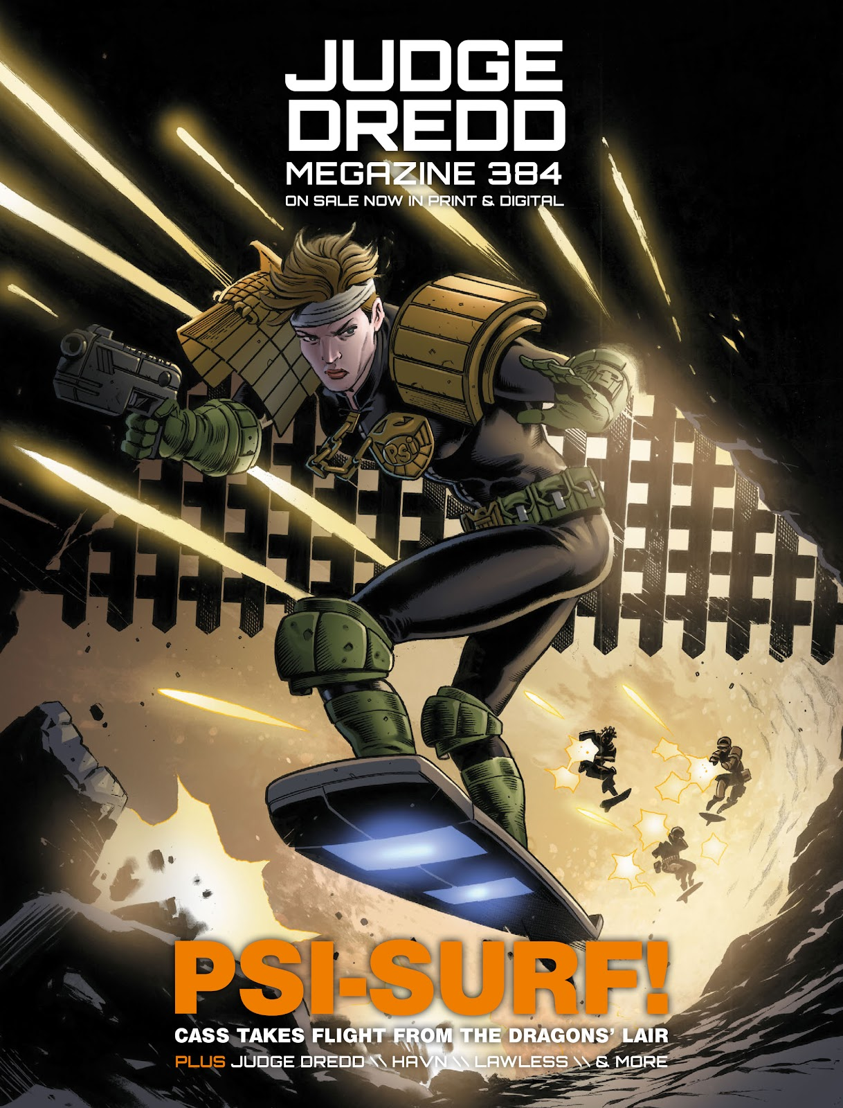 Read online 2000 AD comic -  Issue #2032 - 9