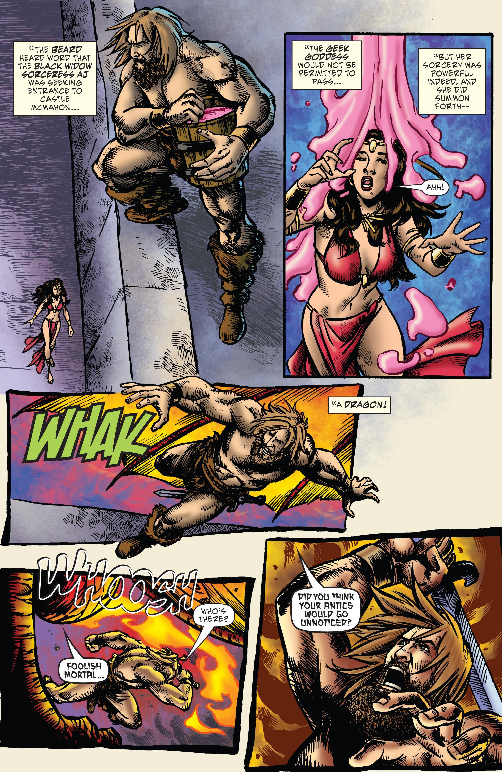 Read online WWE Superstars comic -  Issue #7 - 20