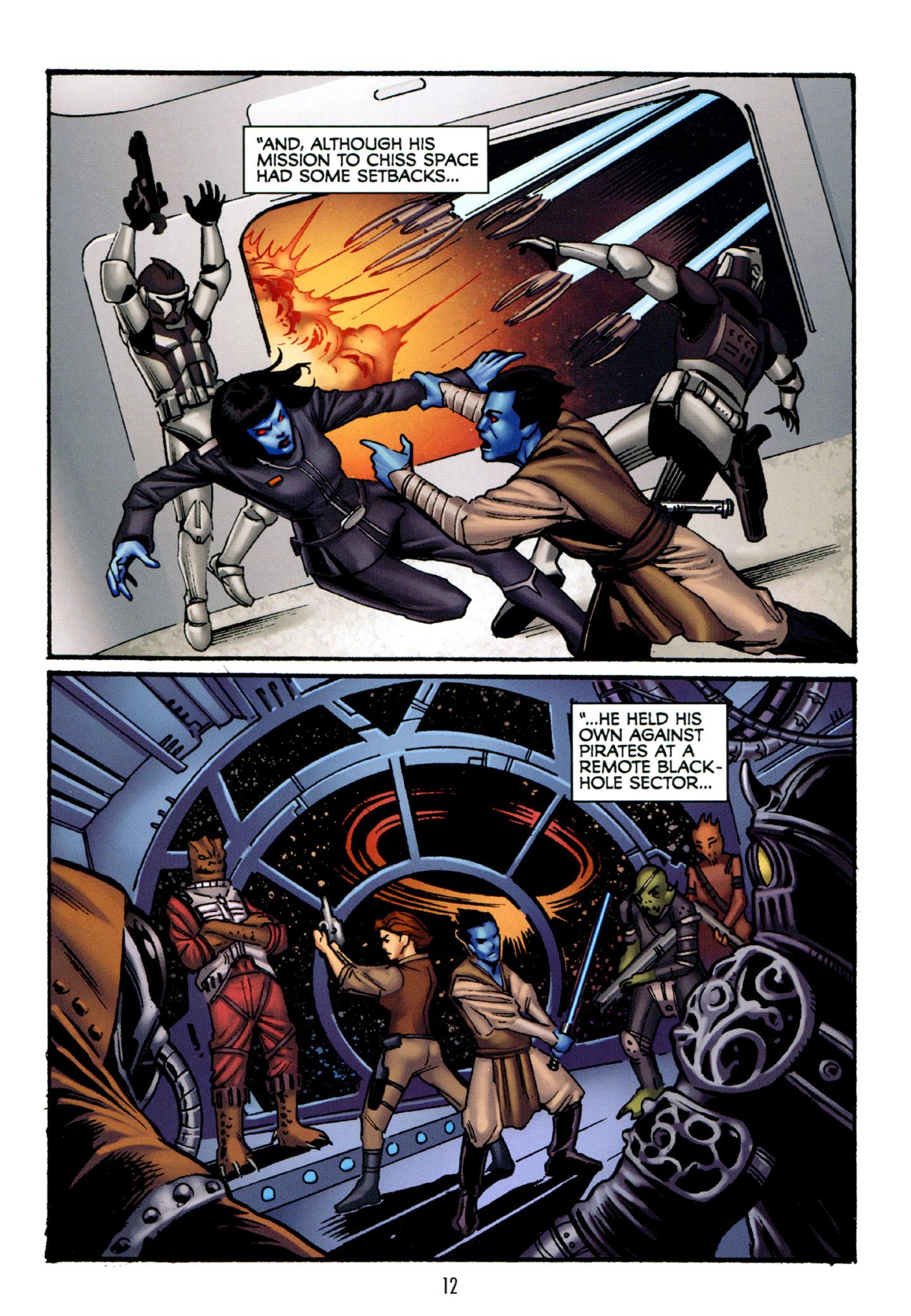 Read online Star Wars: The Clone Wars - Strange Allies comic -  Issue # Full - 13