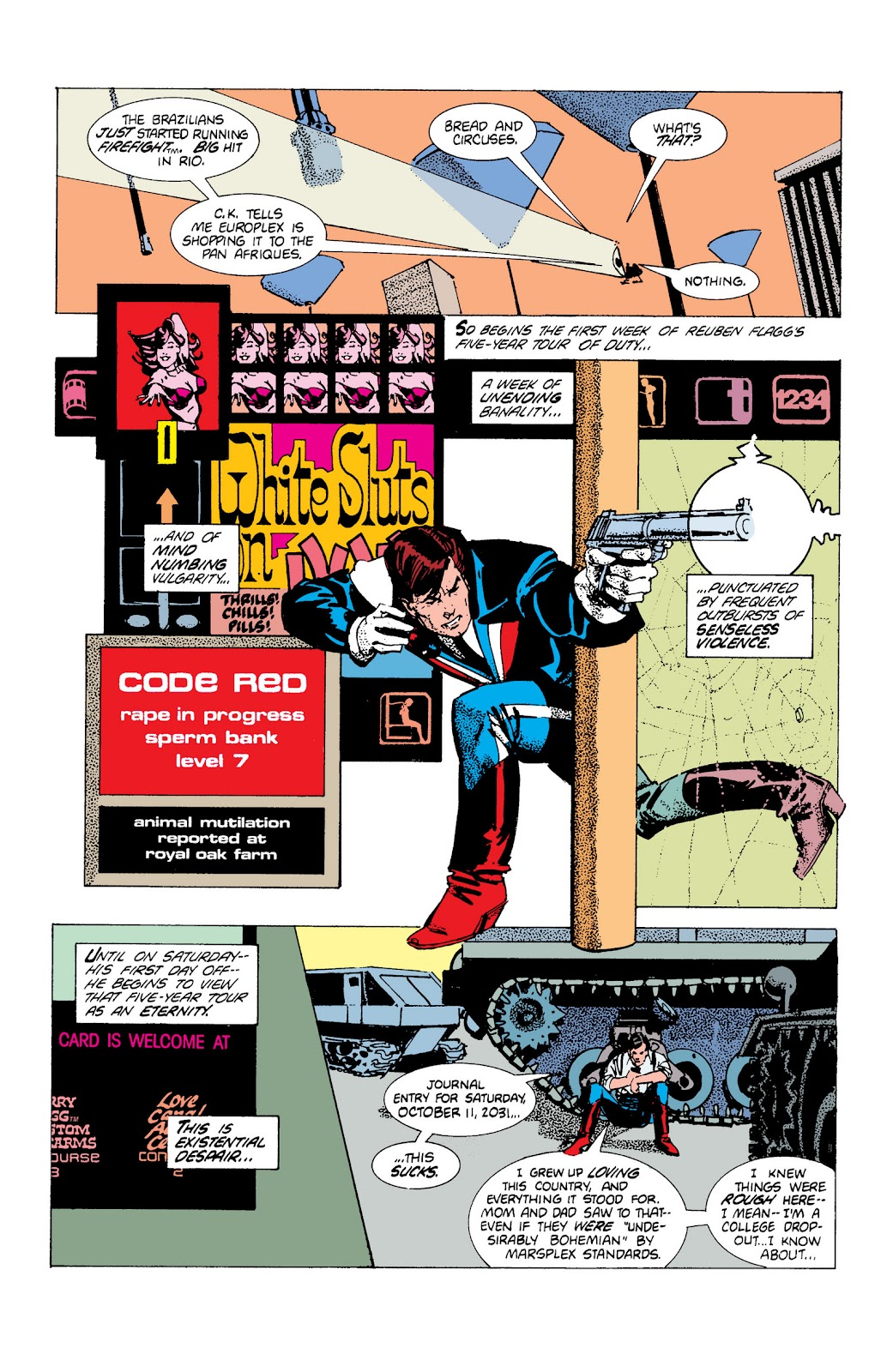 American Flagg! issue Definitive Collection (Part 1) - Page 37