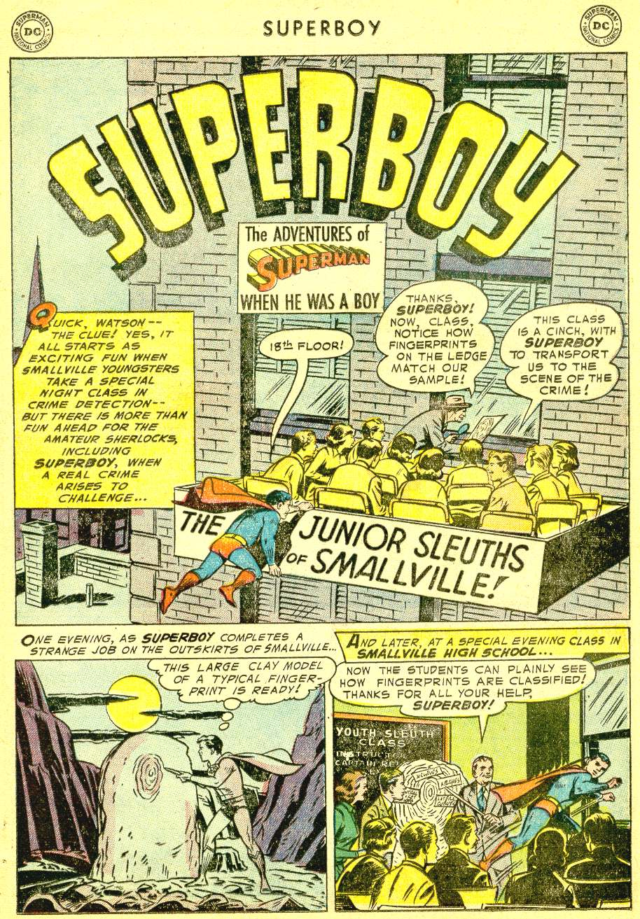 Superboy (1949) issue 41 - Page 12