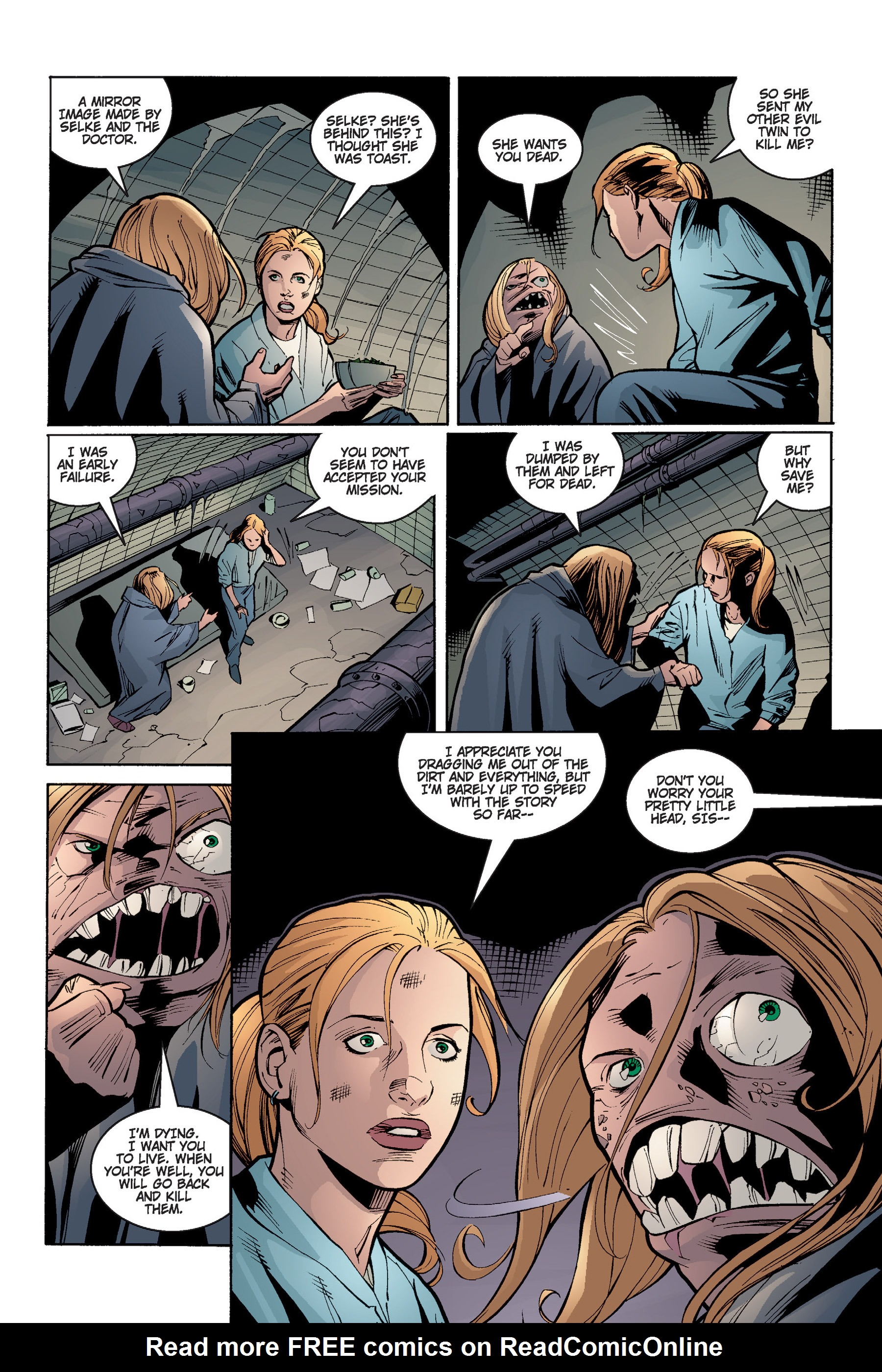 Read online Buffy the Vampire Slayer: Omnibus comic -  Issue # TPB 4 - 184