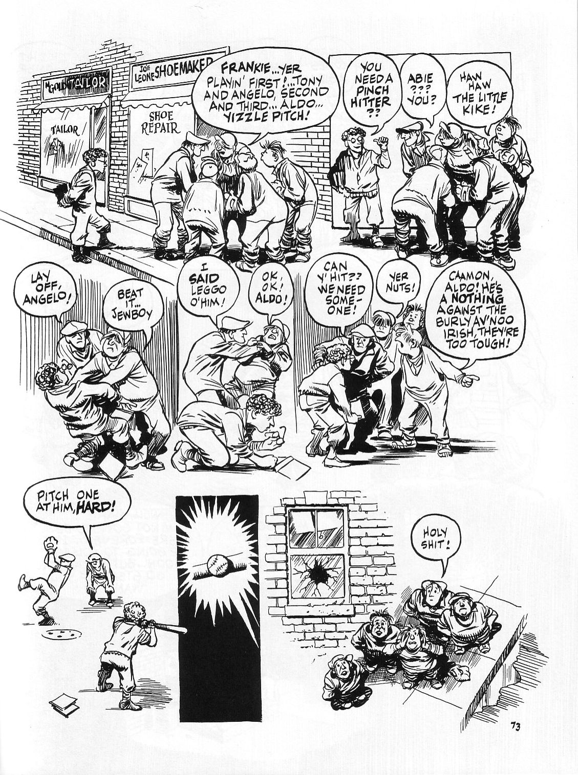 Read online Dropsie Avenue, The Neighborhood comic -  Issue # Full - 75
