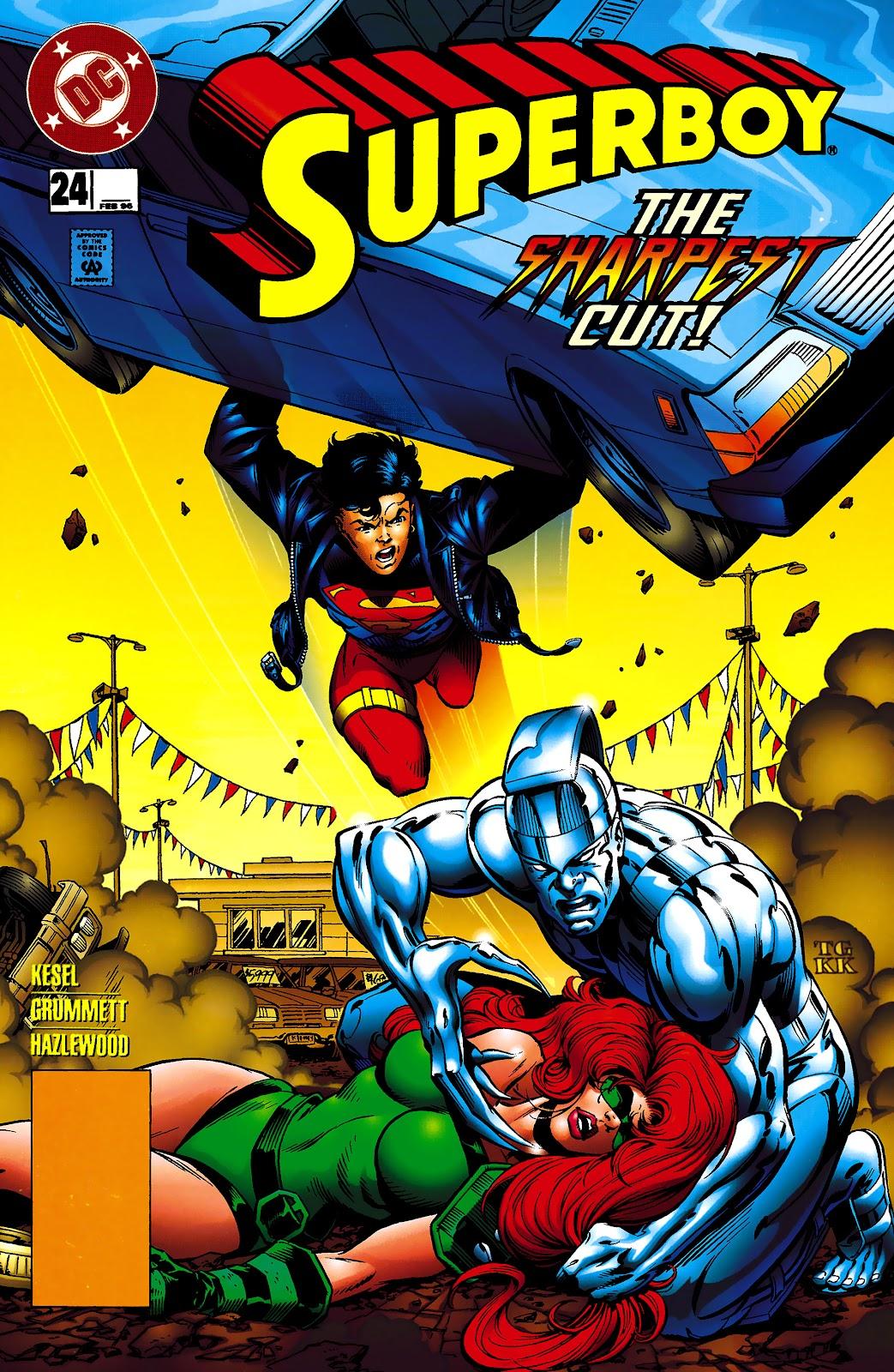 Superboy (1994) 24 Page 1