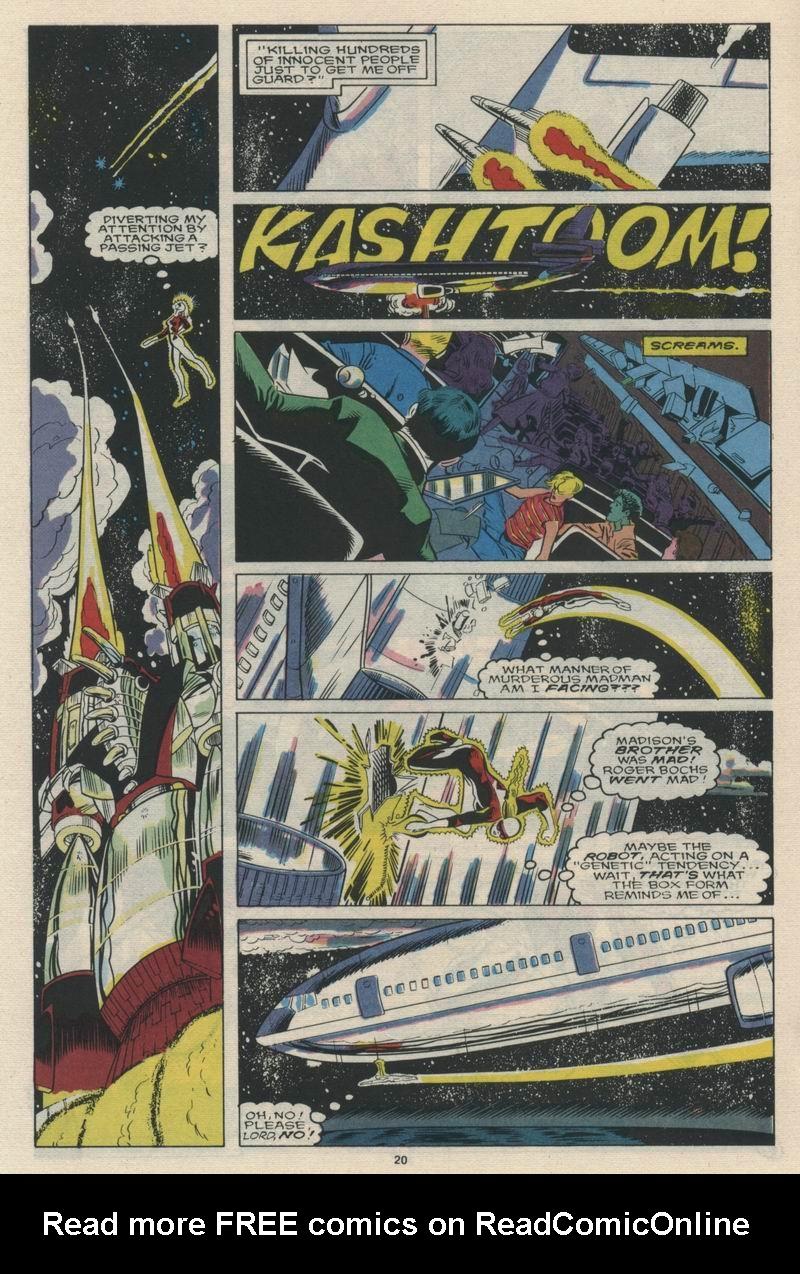 Read online Alpha Flight (1983) comic -  Issue #65 - 22