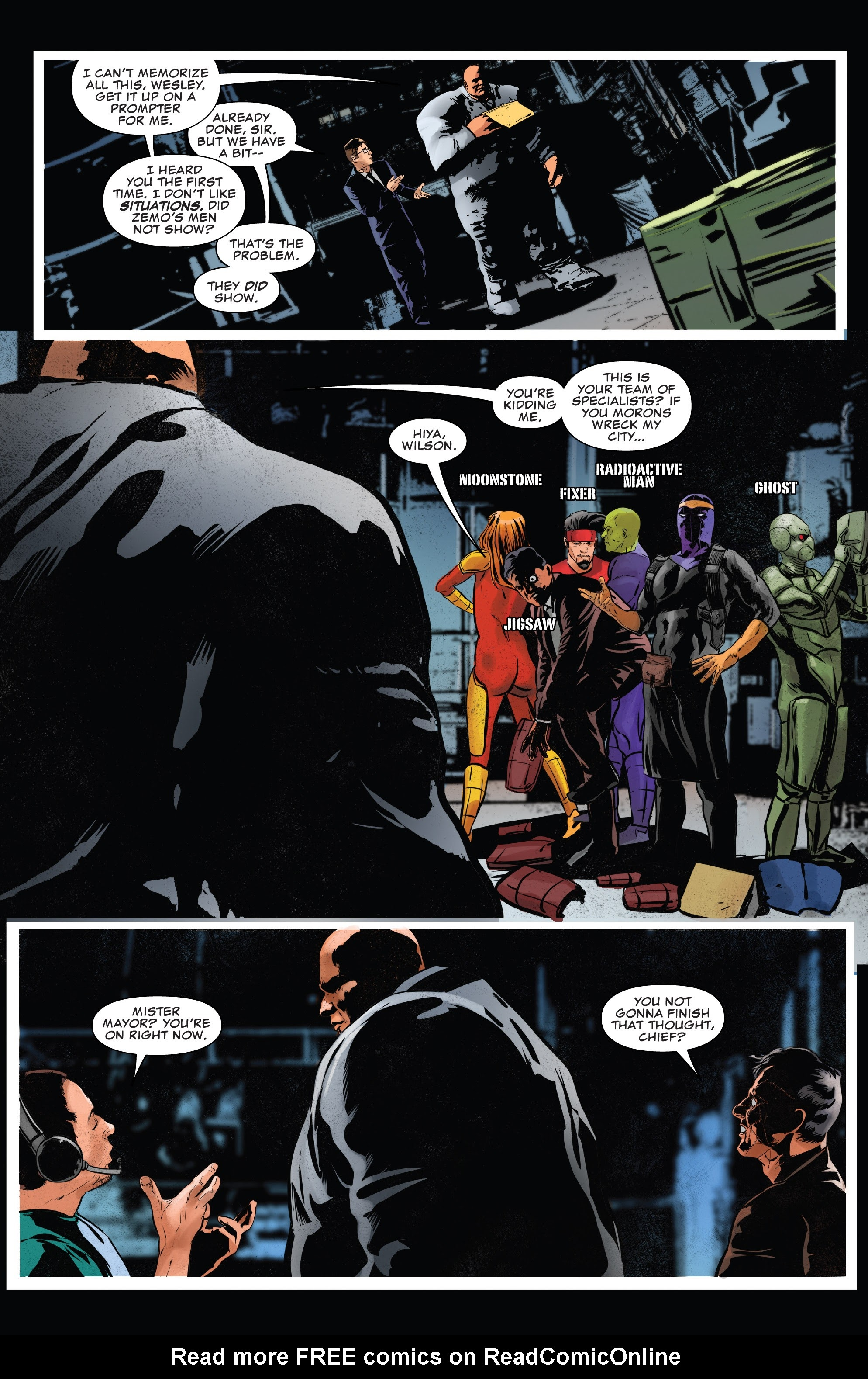 Read online The Punisher (2018) comic -  Issue #13 - 22