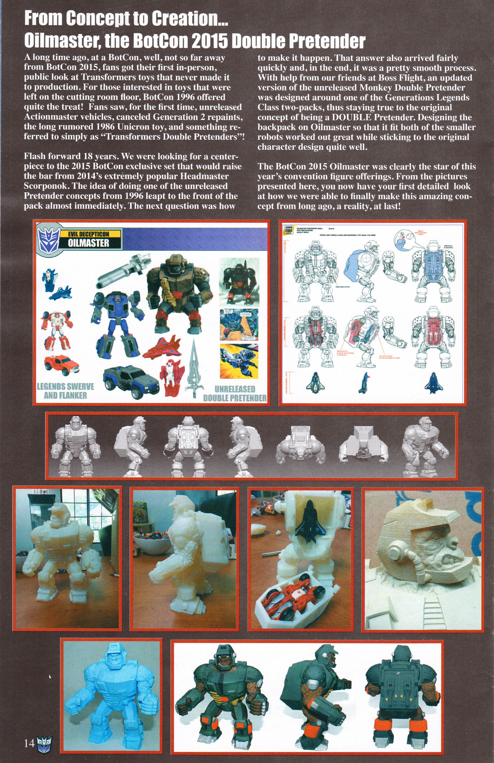 Read online Transformers: Collectors' Club comic -  Issue #64 - 14