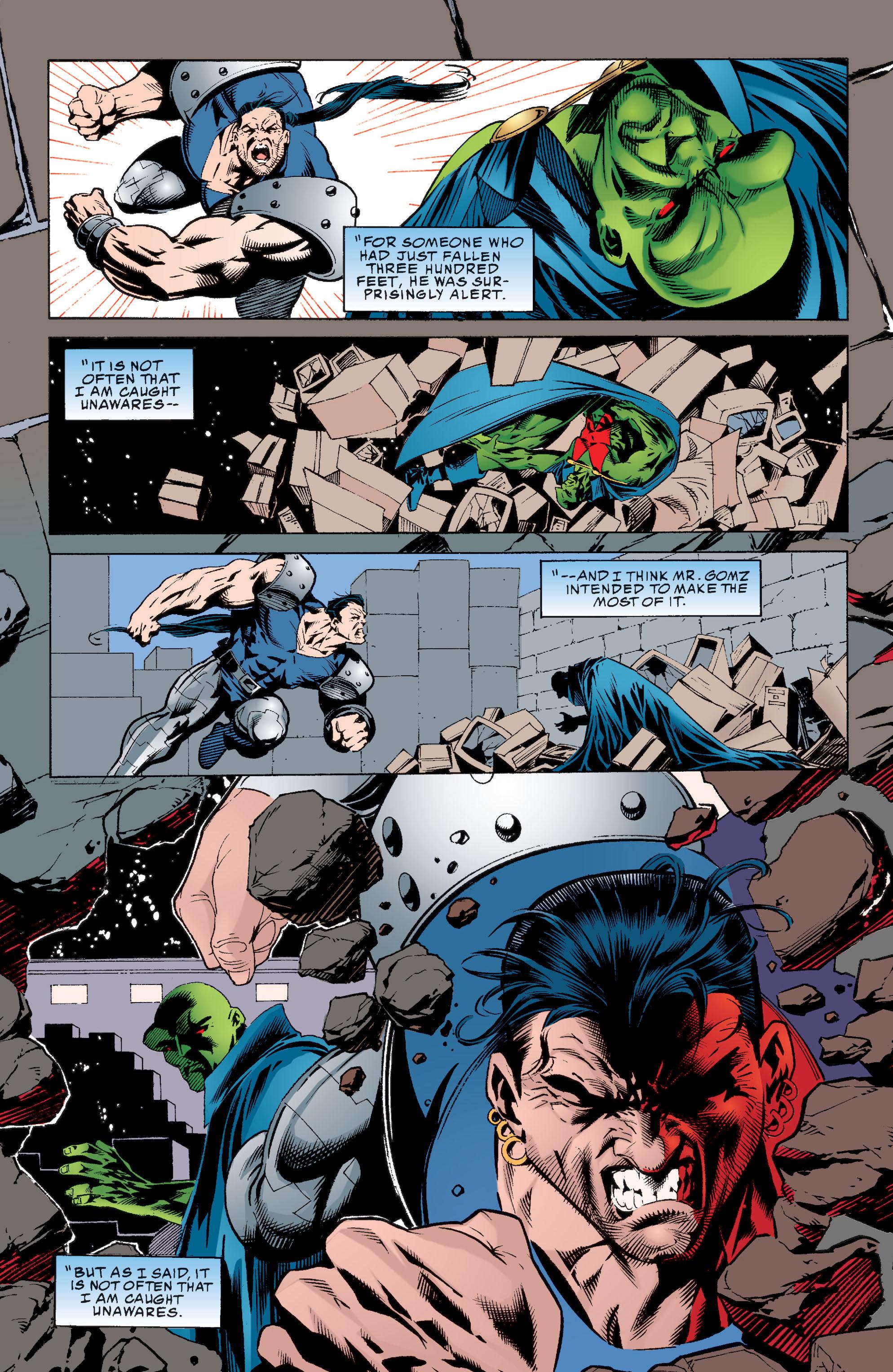 Read online Martian Manhunter: Son of Mars comic -  Issue # TPB - 139
