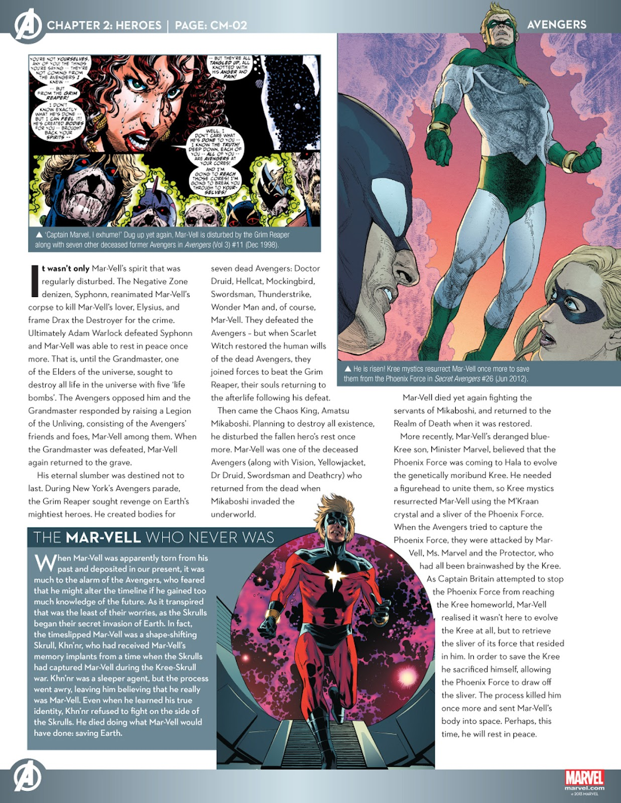 Comic Marvel Fact Files issue 42