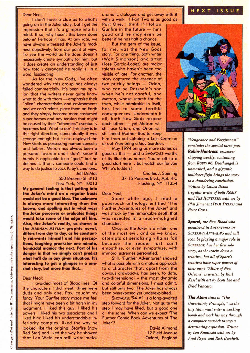Read online Showcase '94 comic -  Issue #5 - 41