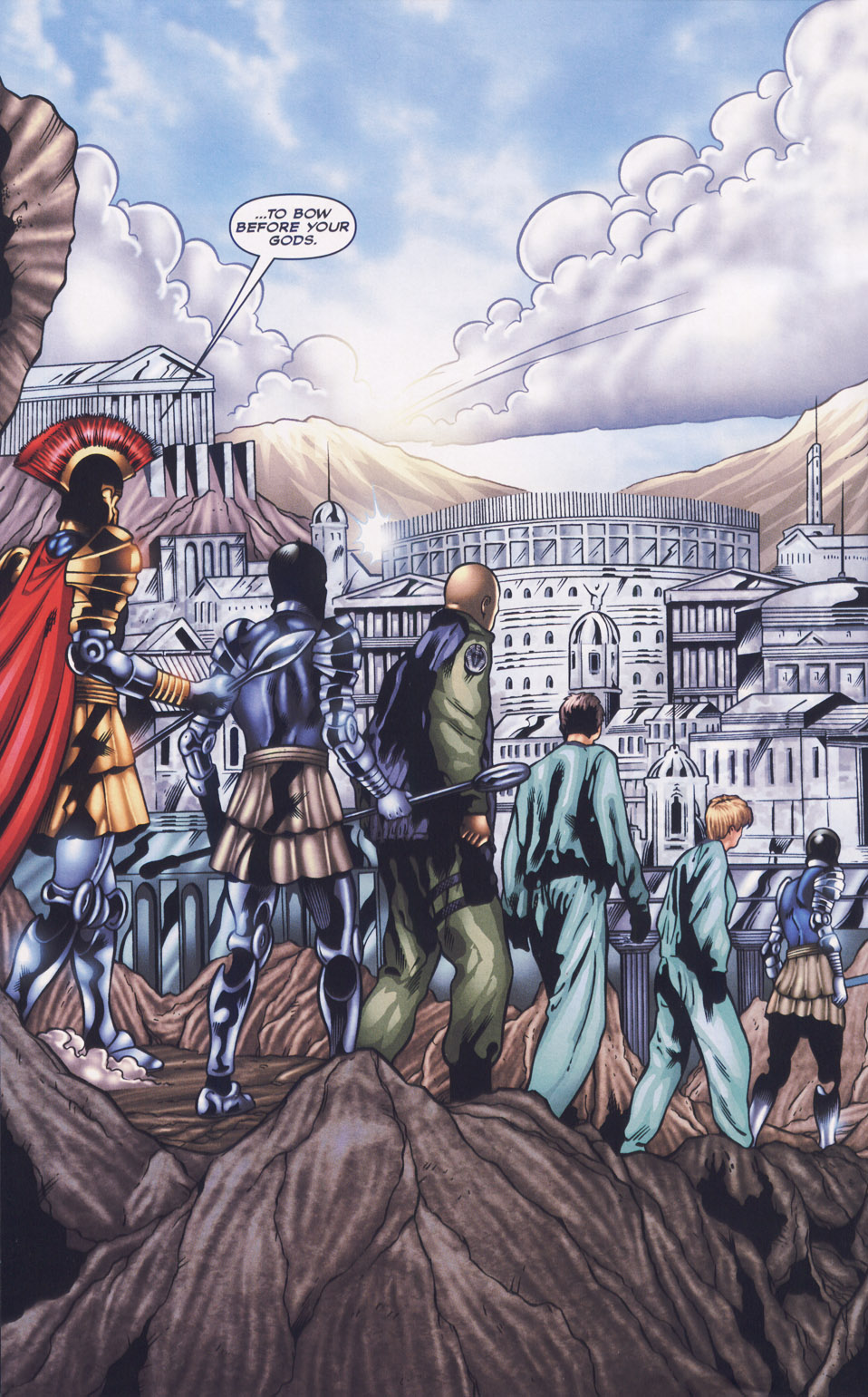 Read online Stargate SG-1: Fall of Rome comic -  Issue #1 - 23