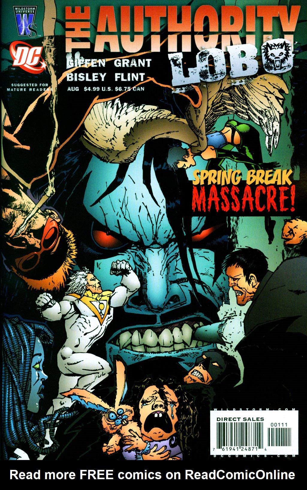 Read online The Authority/Lobo: Spring Break Massacre comic -  Issue # Full - 1