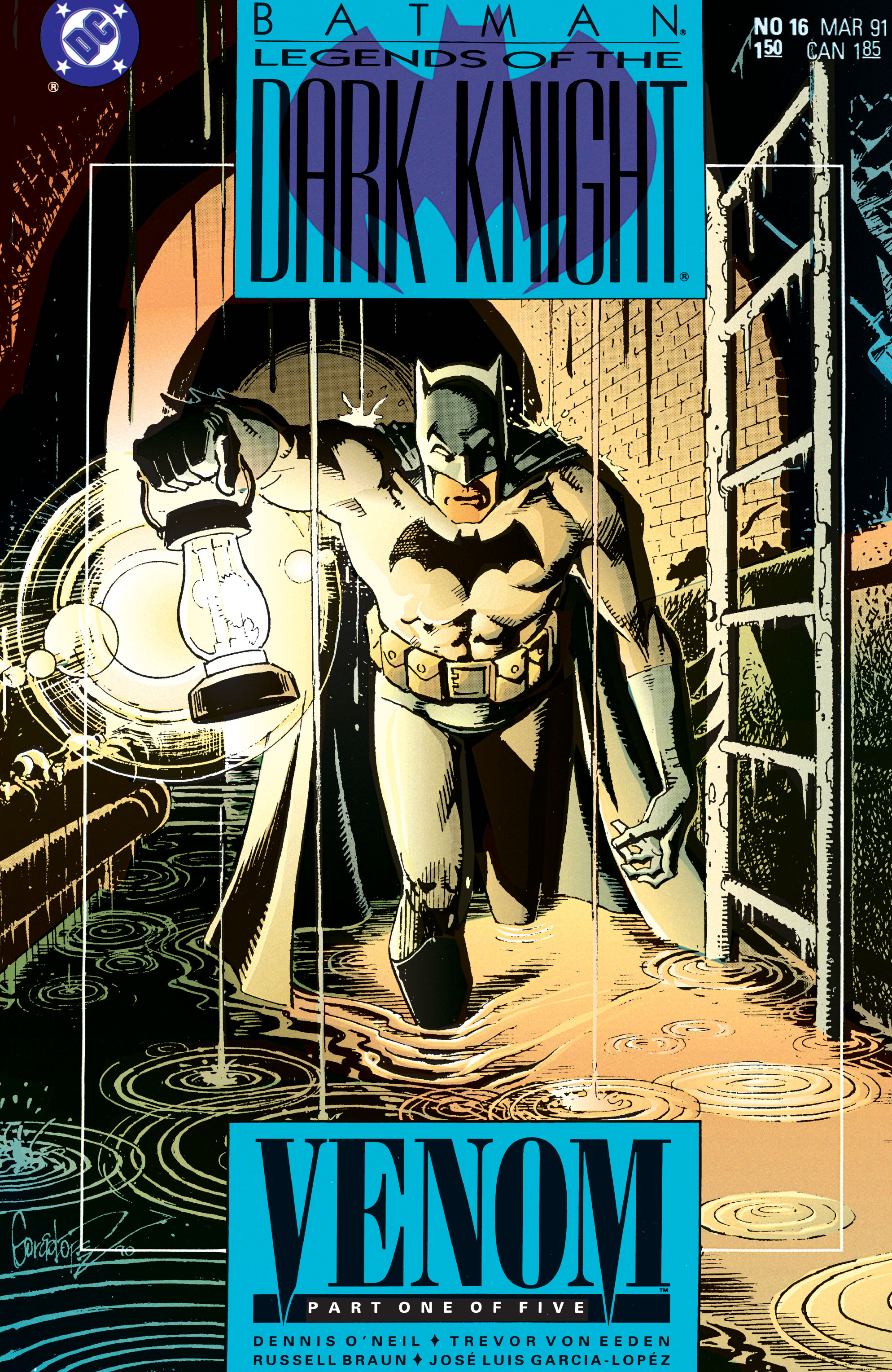 Batman: Legends of the Dark Knight 16 Page 1