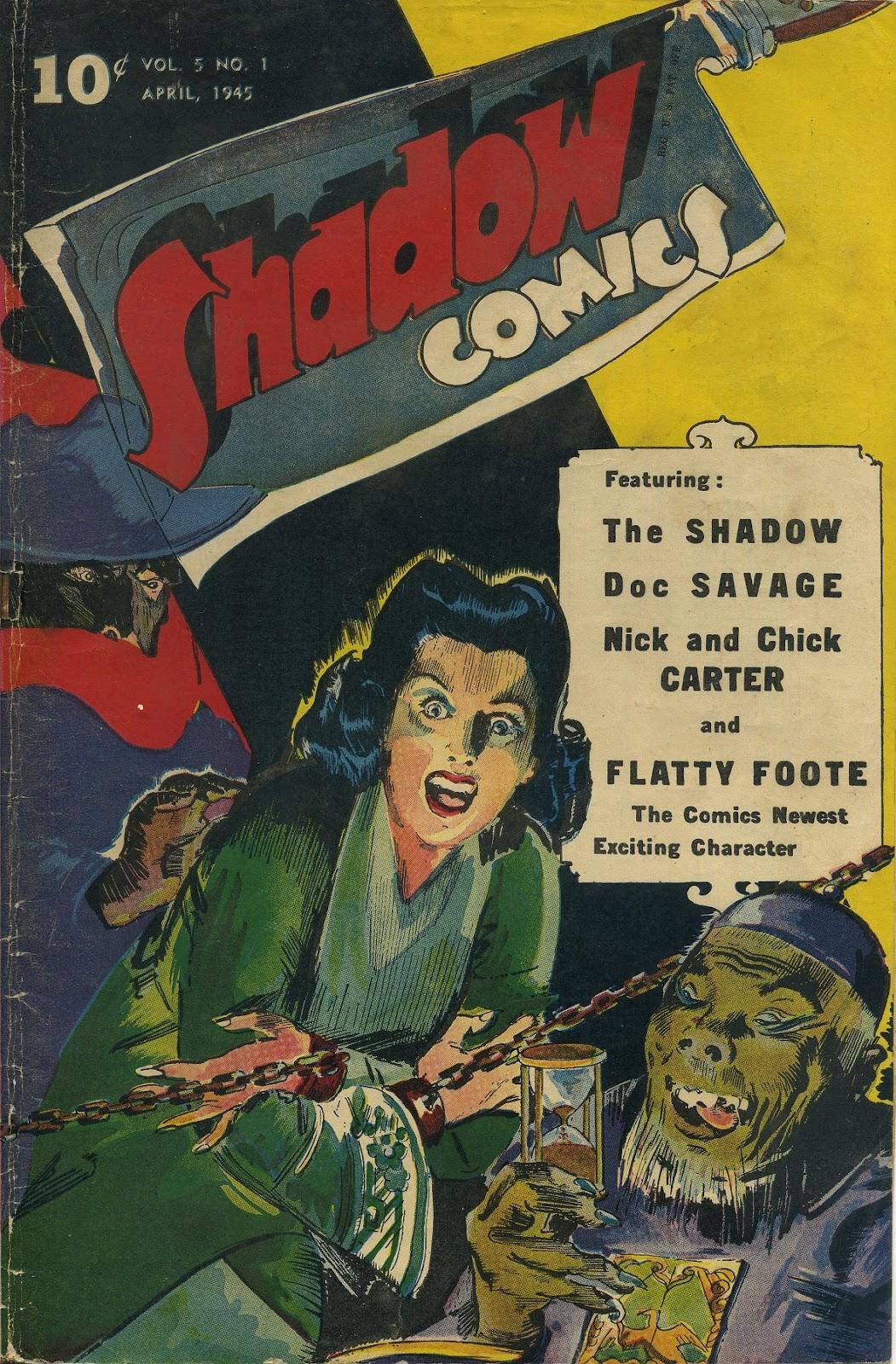 Shadow Comics 49 Page 1