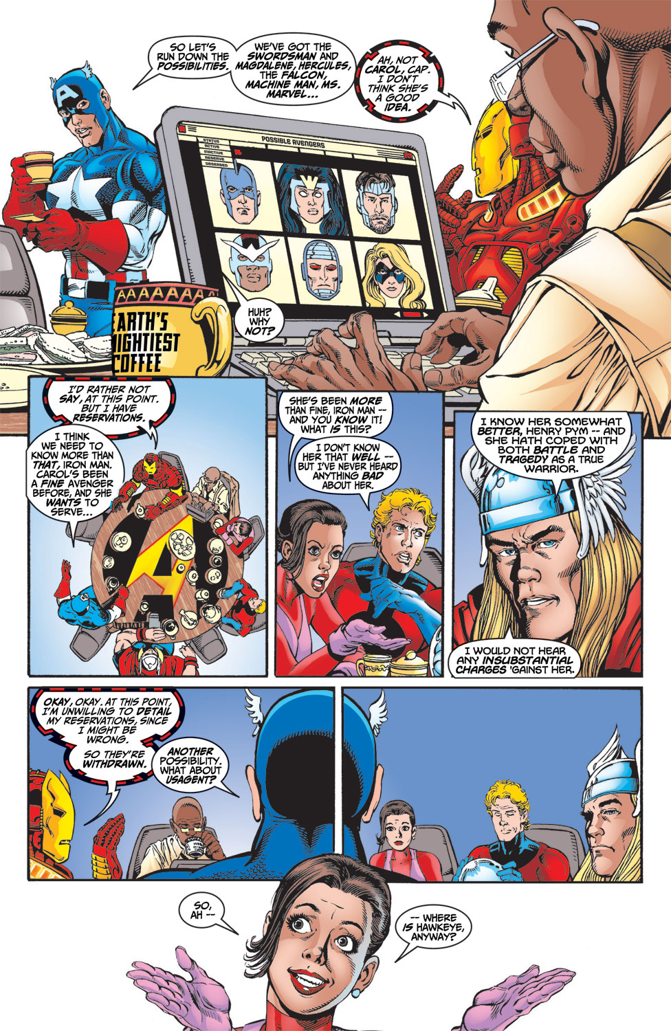 Read online Avengers (1998) comic -  Issue #4 - 18