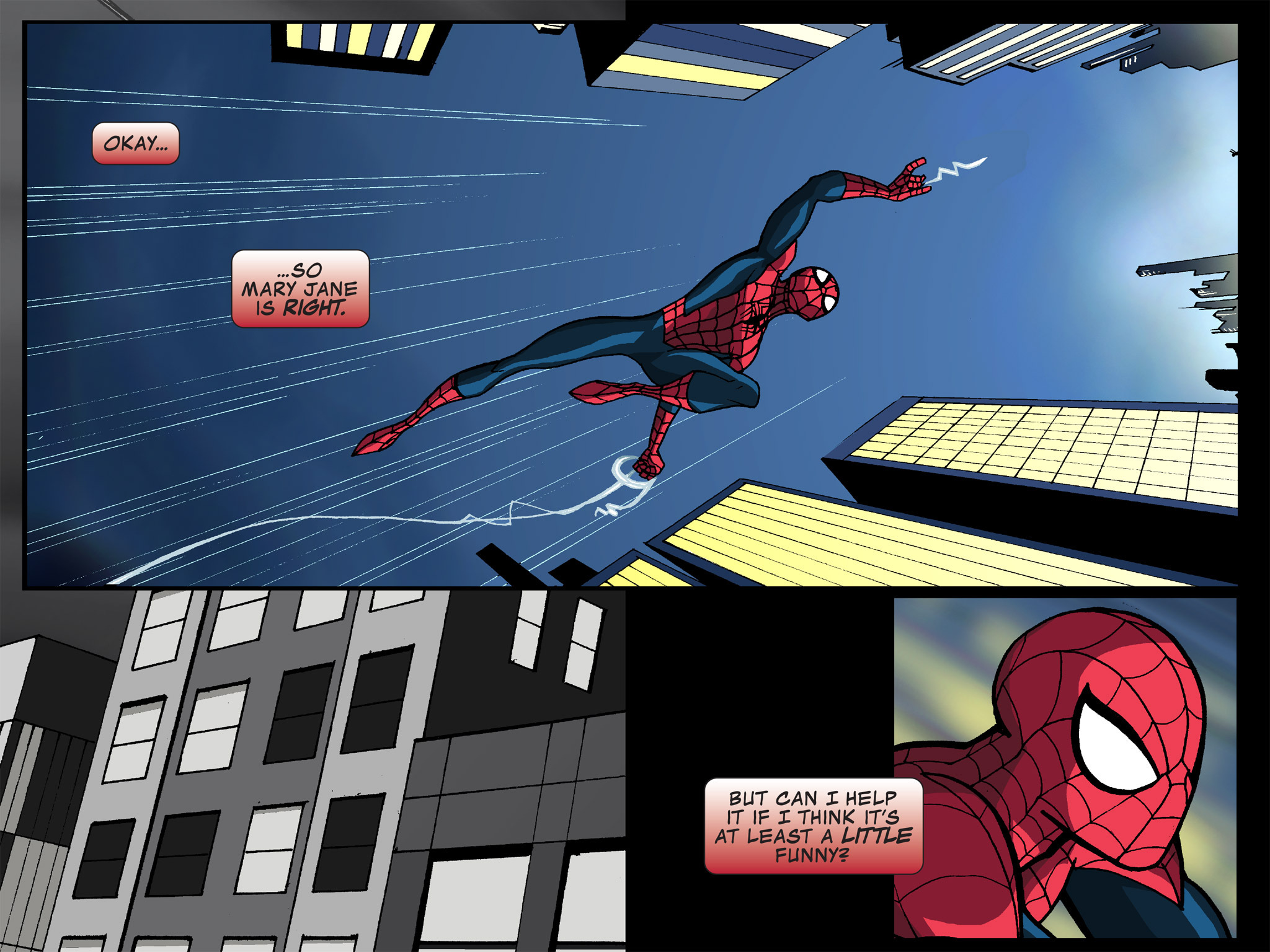 Read online Ultimate Spider-Man (Infinite Comics) (2015) comic -  Issue #14 - 14