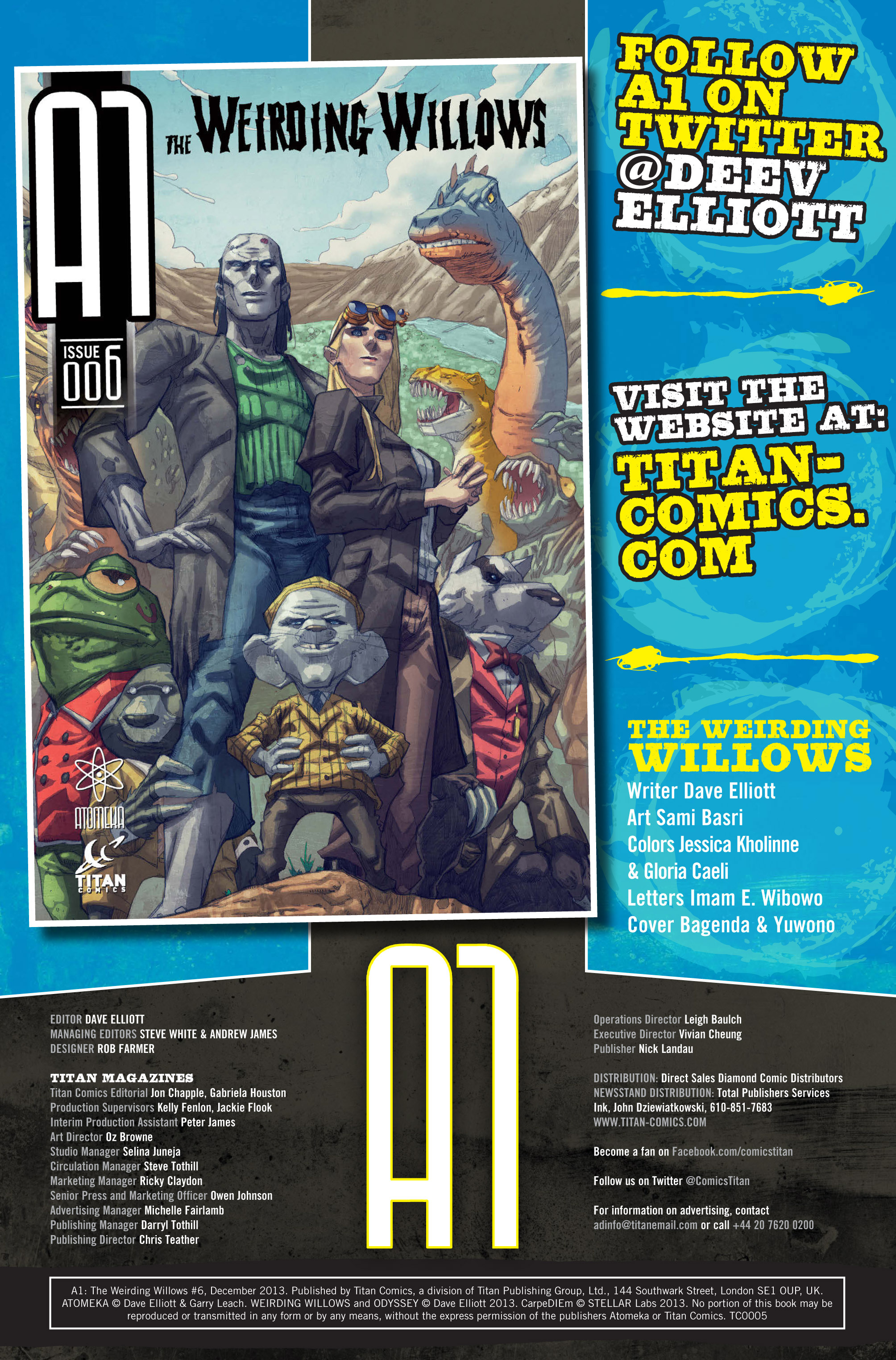 Read online A1 comic -  Issue #6 - 2