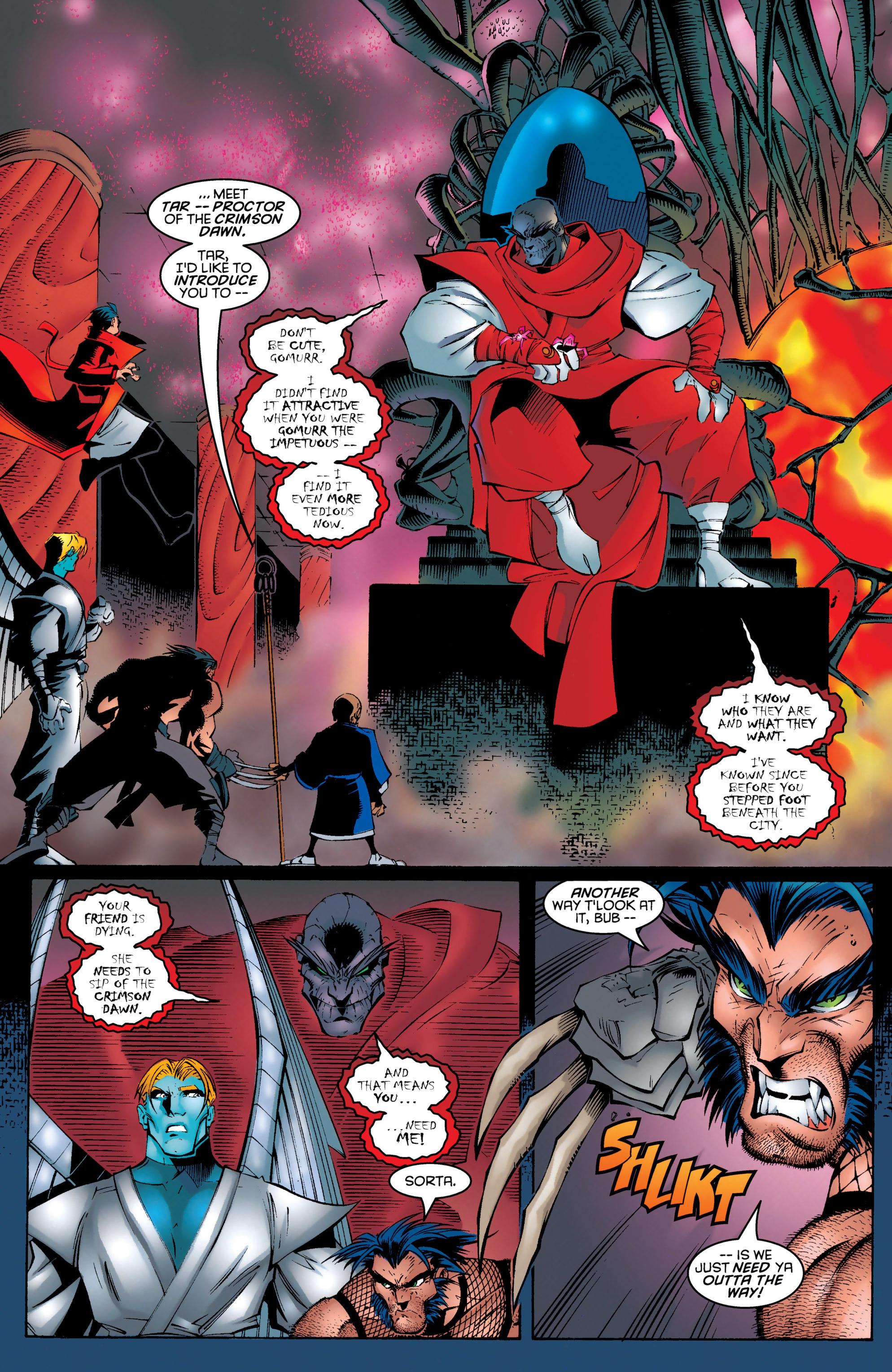 Read online Uncanny X-Men (1963) comic -  Issue #330 - 12