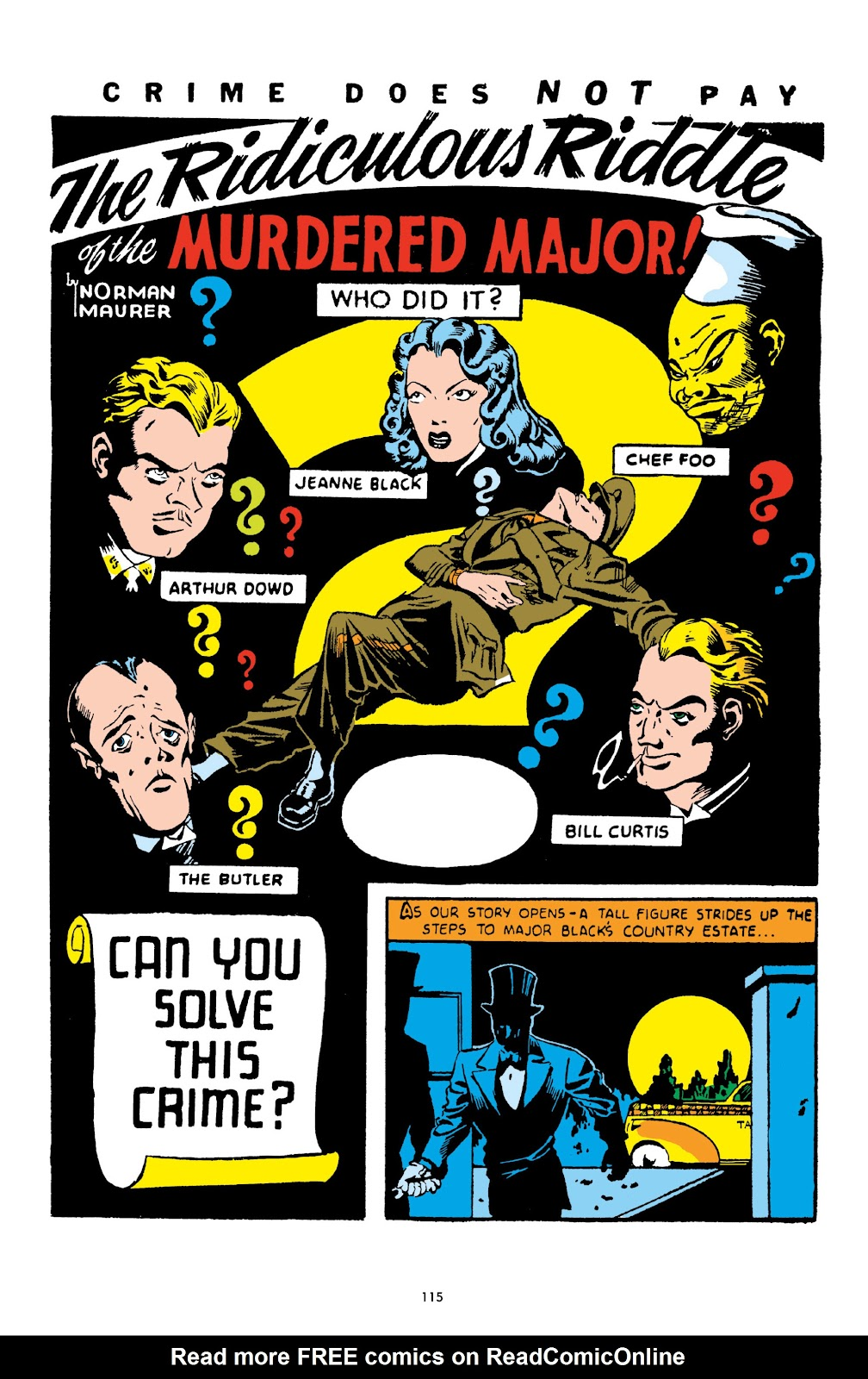 Read online Crime Does Not Pay Archives comic -  Issue # TPB 1 (Part 2) - 18