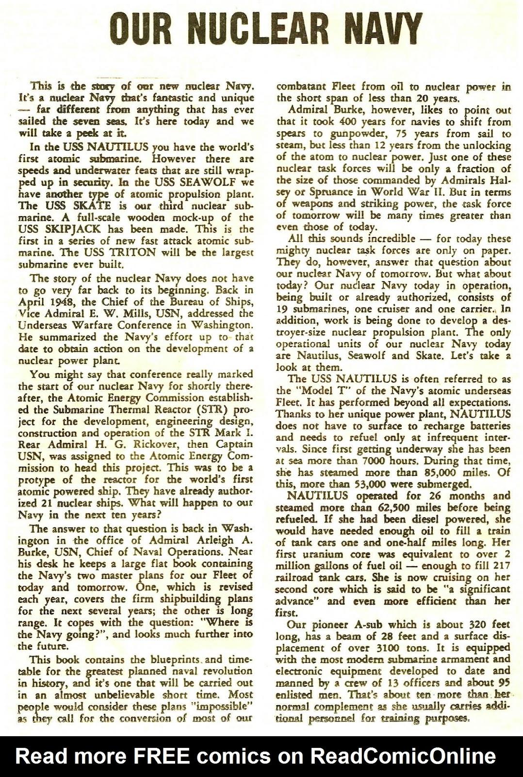 Read online Fightin' Navy comic -  Issue #120 - 24