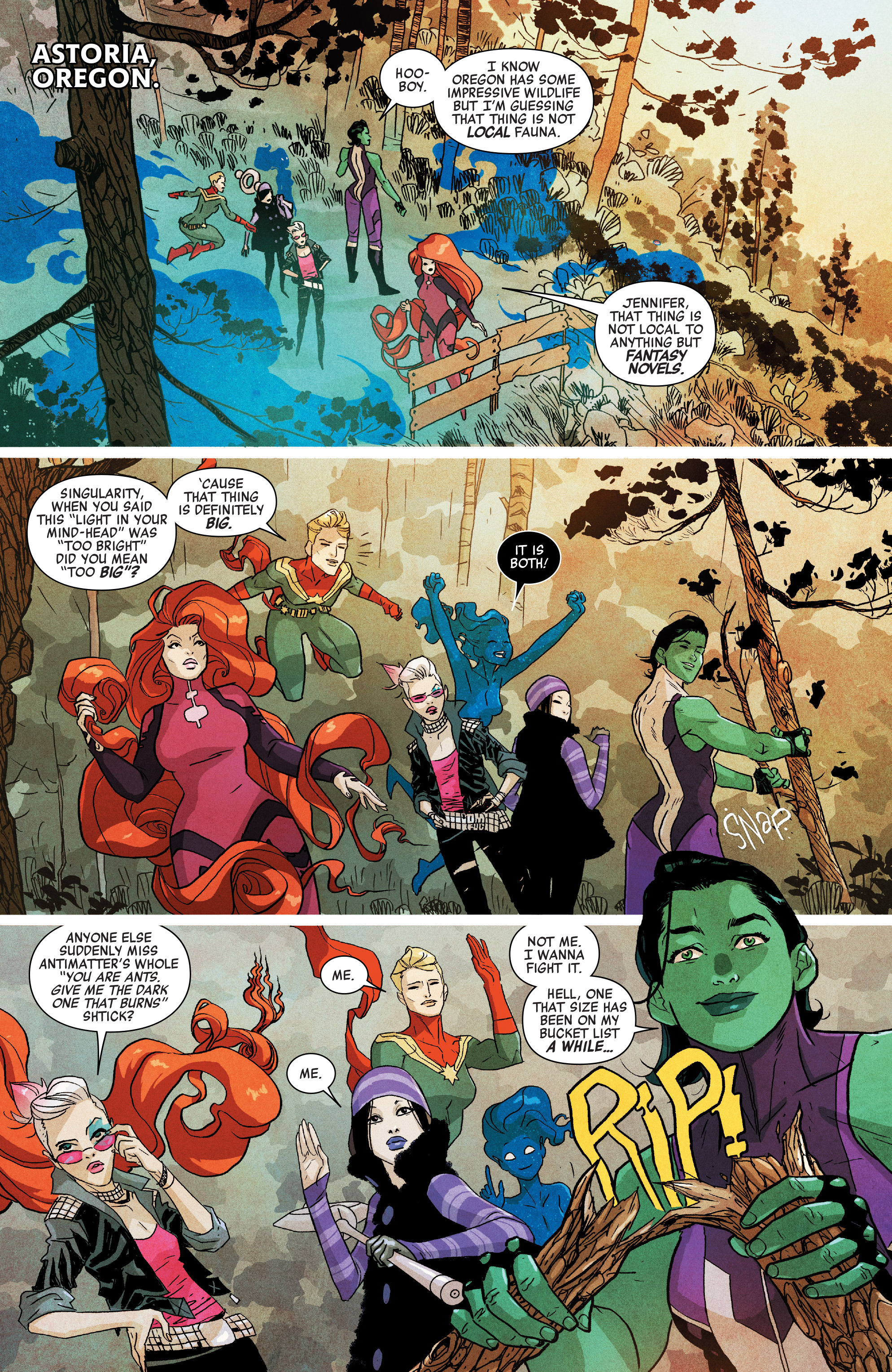 Read online A-Force (2016) comic -  Issue #5 - 4