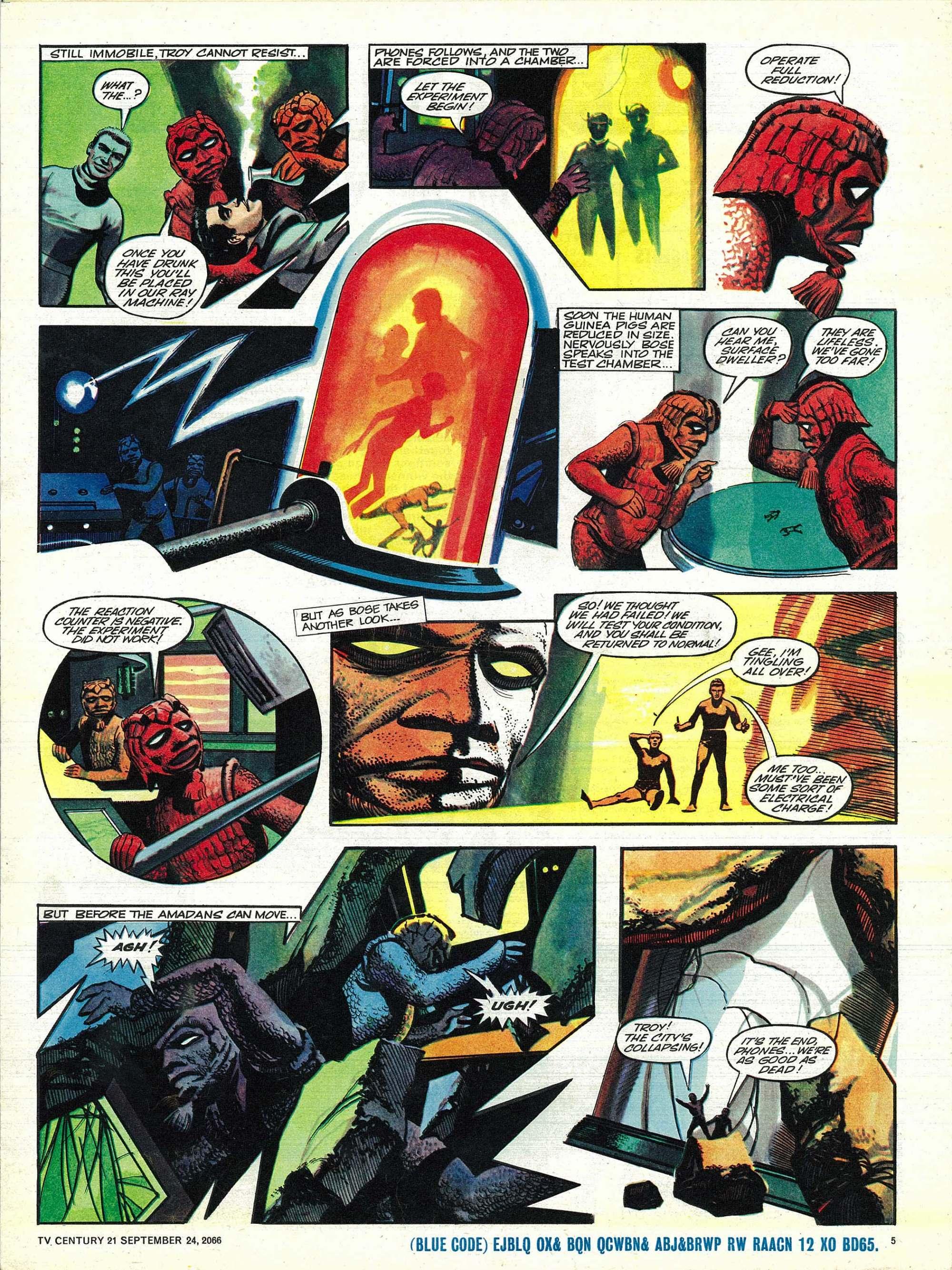Read online TV Century 21 (TV 21) comic -  Issue #88 - 5