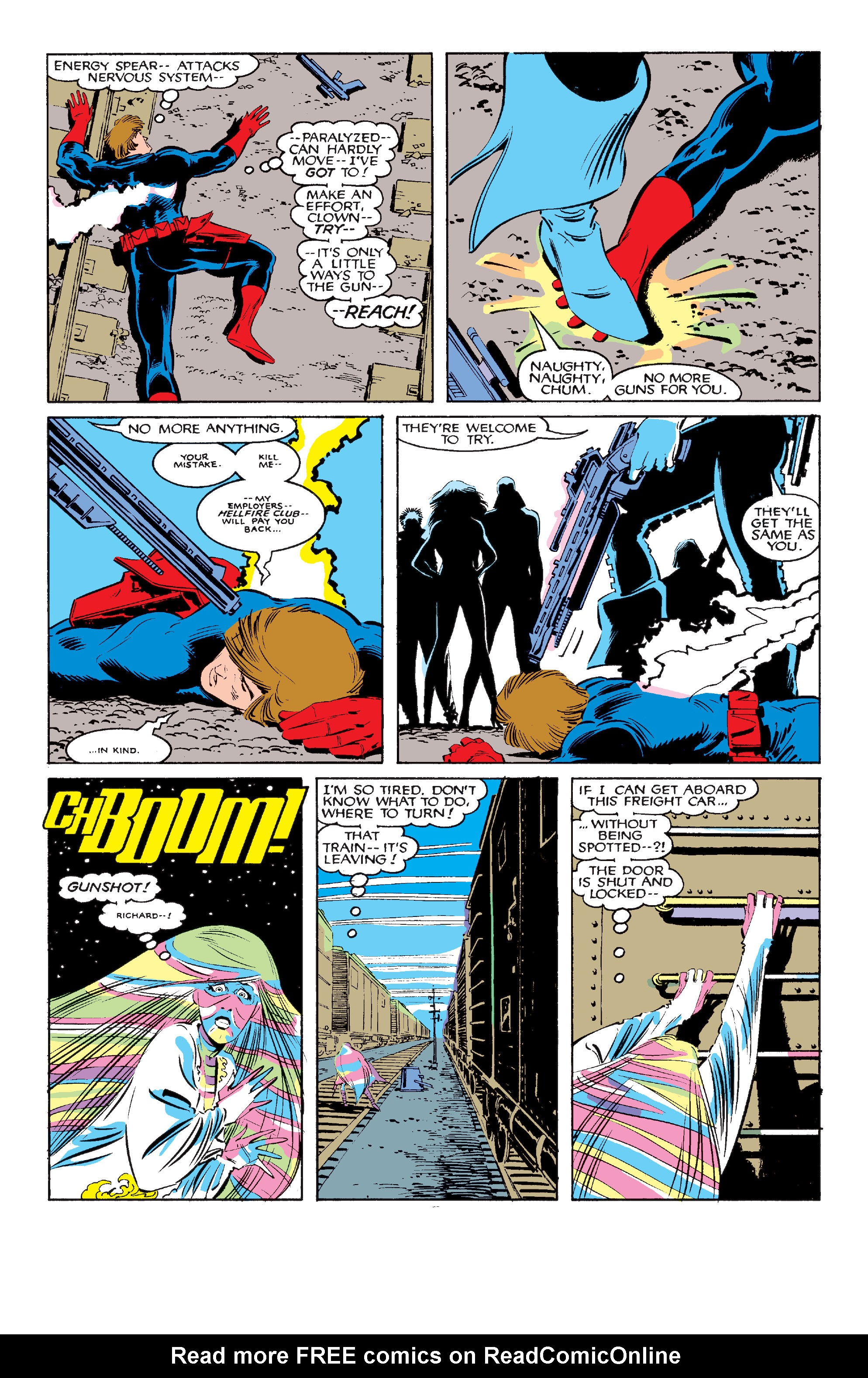 Read online Uncanny X-Men (1963) comic -  Issue #210 - 4