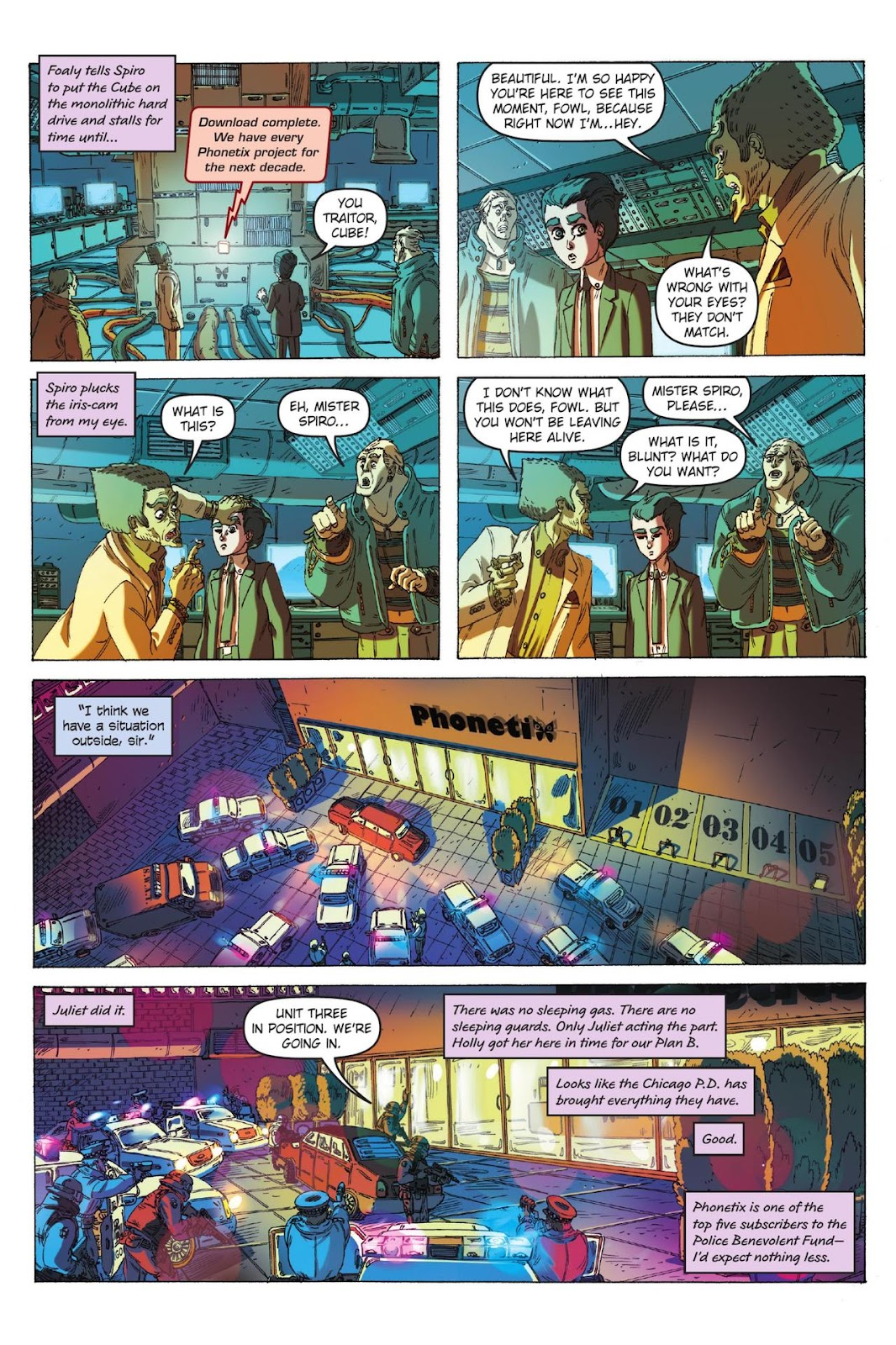 Artemis Fowl: The Eternity Code issue TPB - Page 97