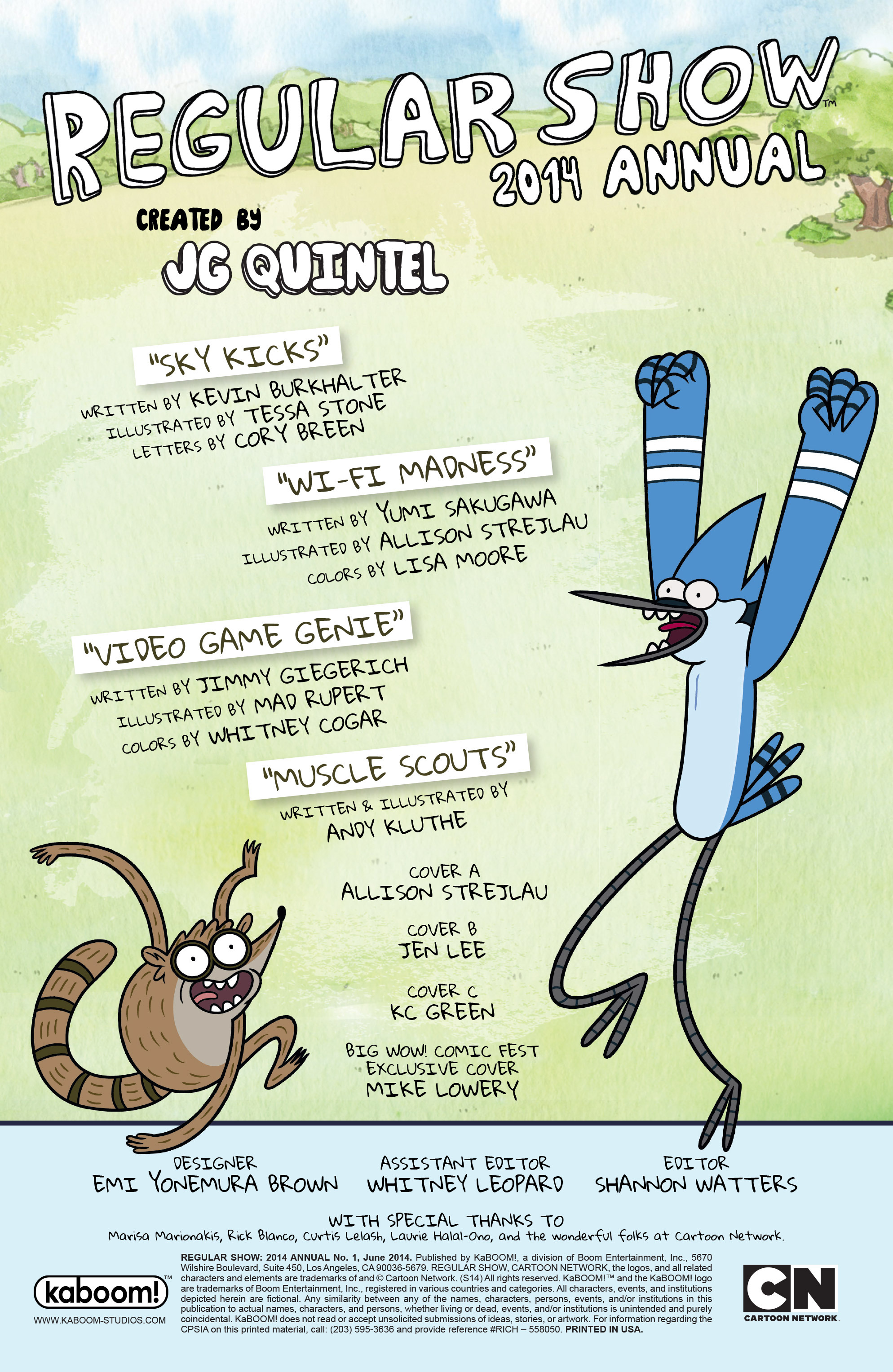 Read online Regular Show comic -  Issue # _Annual 1 - 2